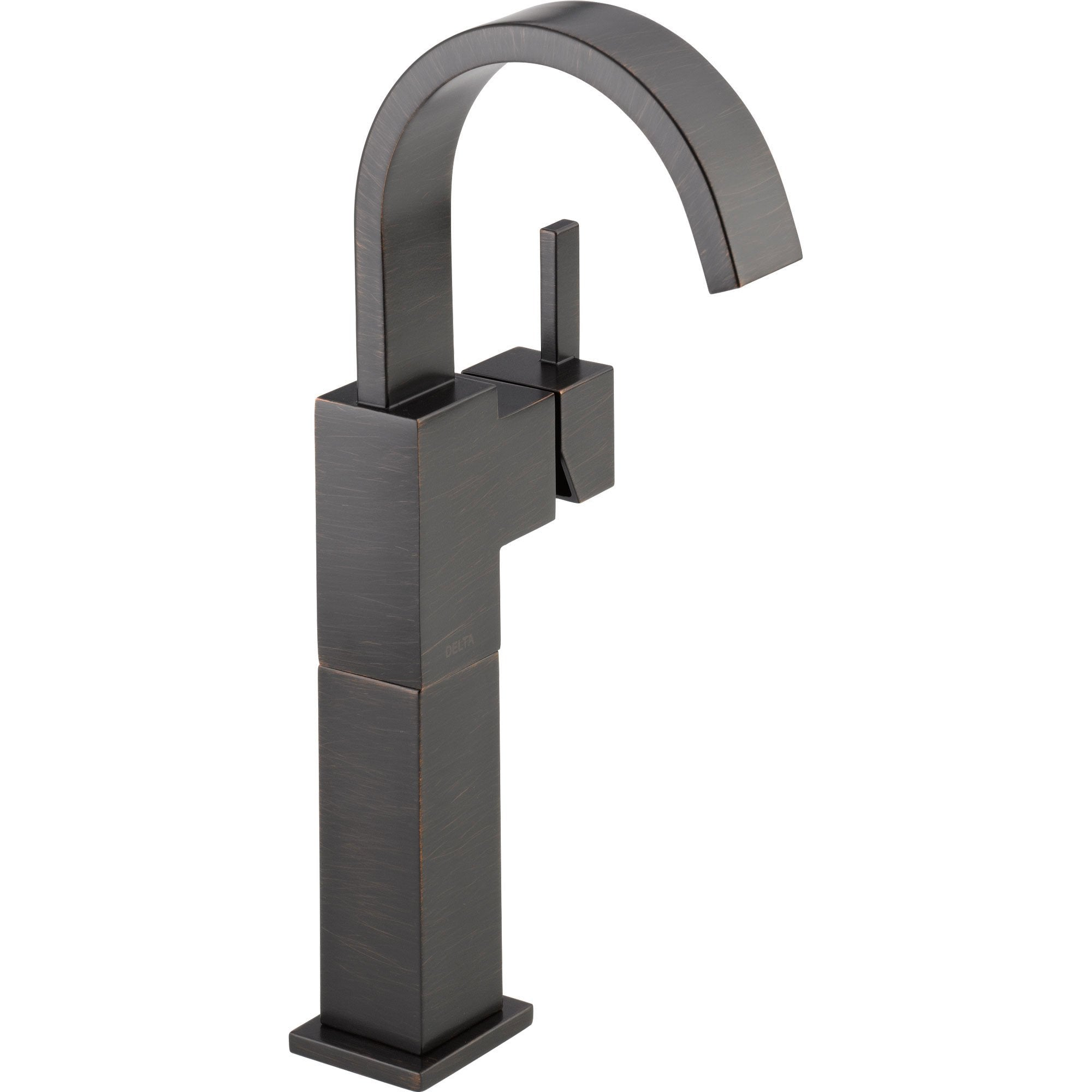 Delta Vero Single Handle Modern Venetian Bronze Tall Vessel Sink Faucet 555939