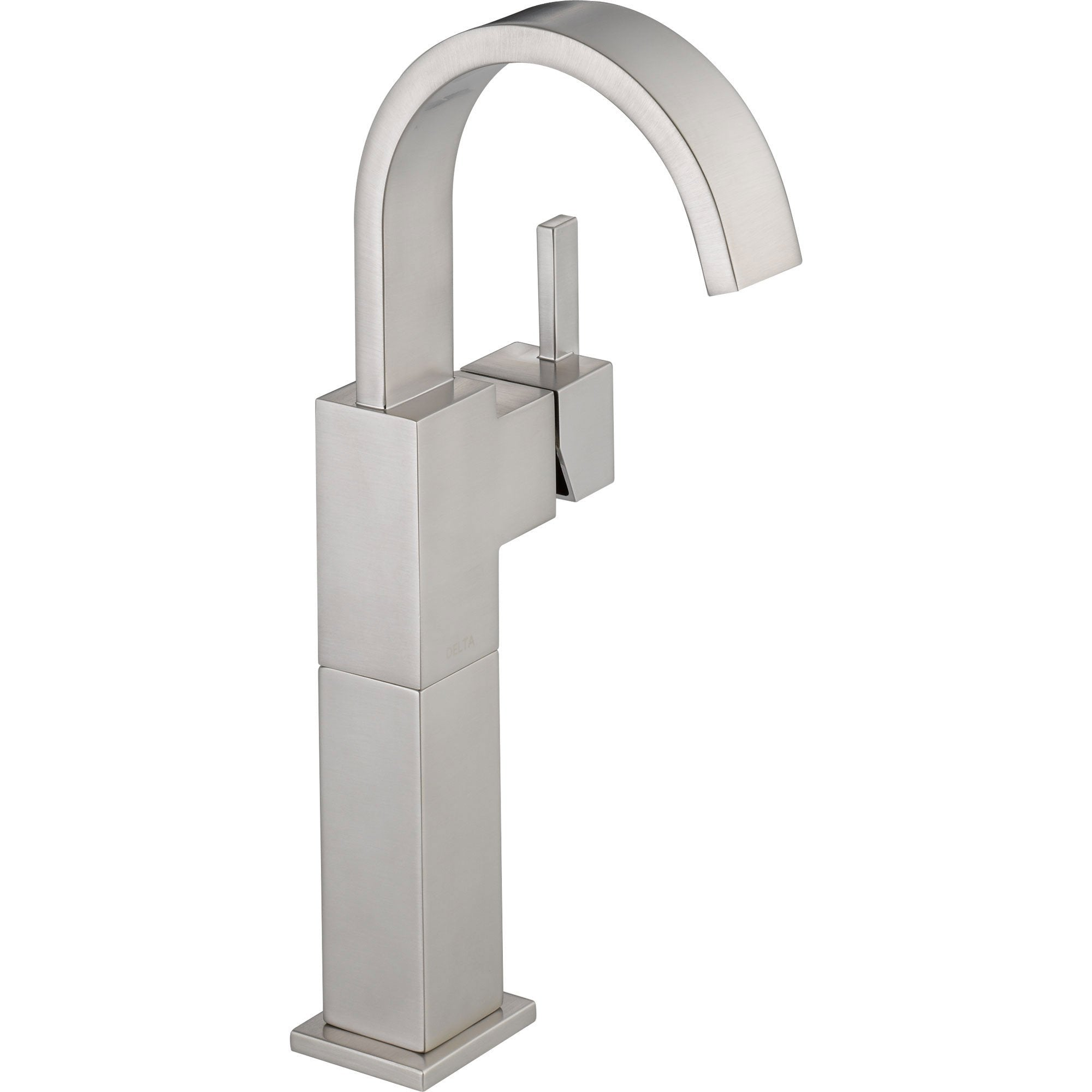 Delta Vero Single-Hole 1-Handle High Arc Bathroom Faucet in Stainless 521799