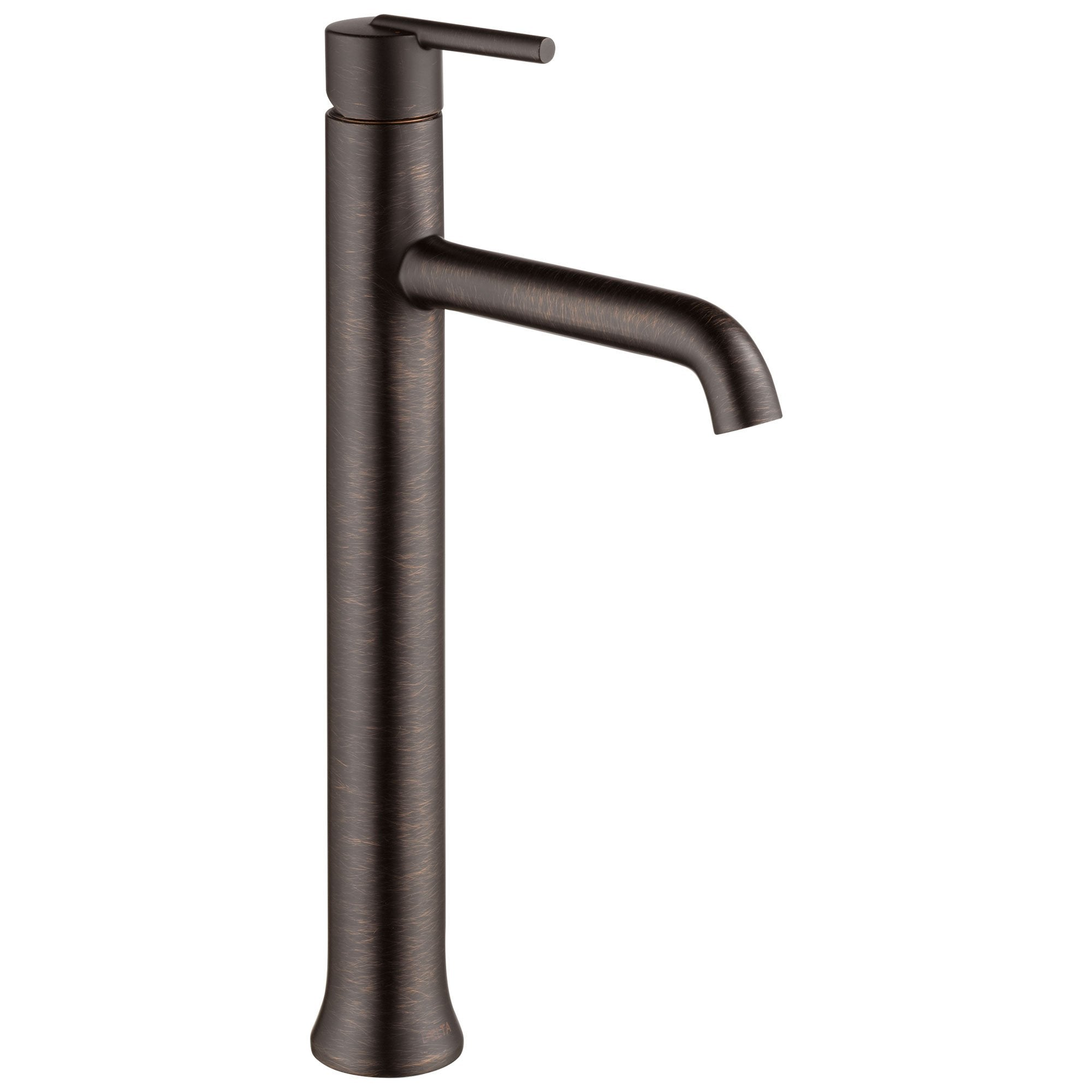 Delta Trinsic Collection Venetian Bronze Finish Single Handle One Hole Modern Vessel Sink Lavatory Bathroom Faucet D759RBDST