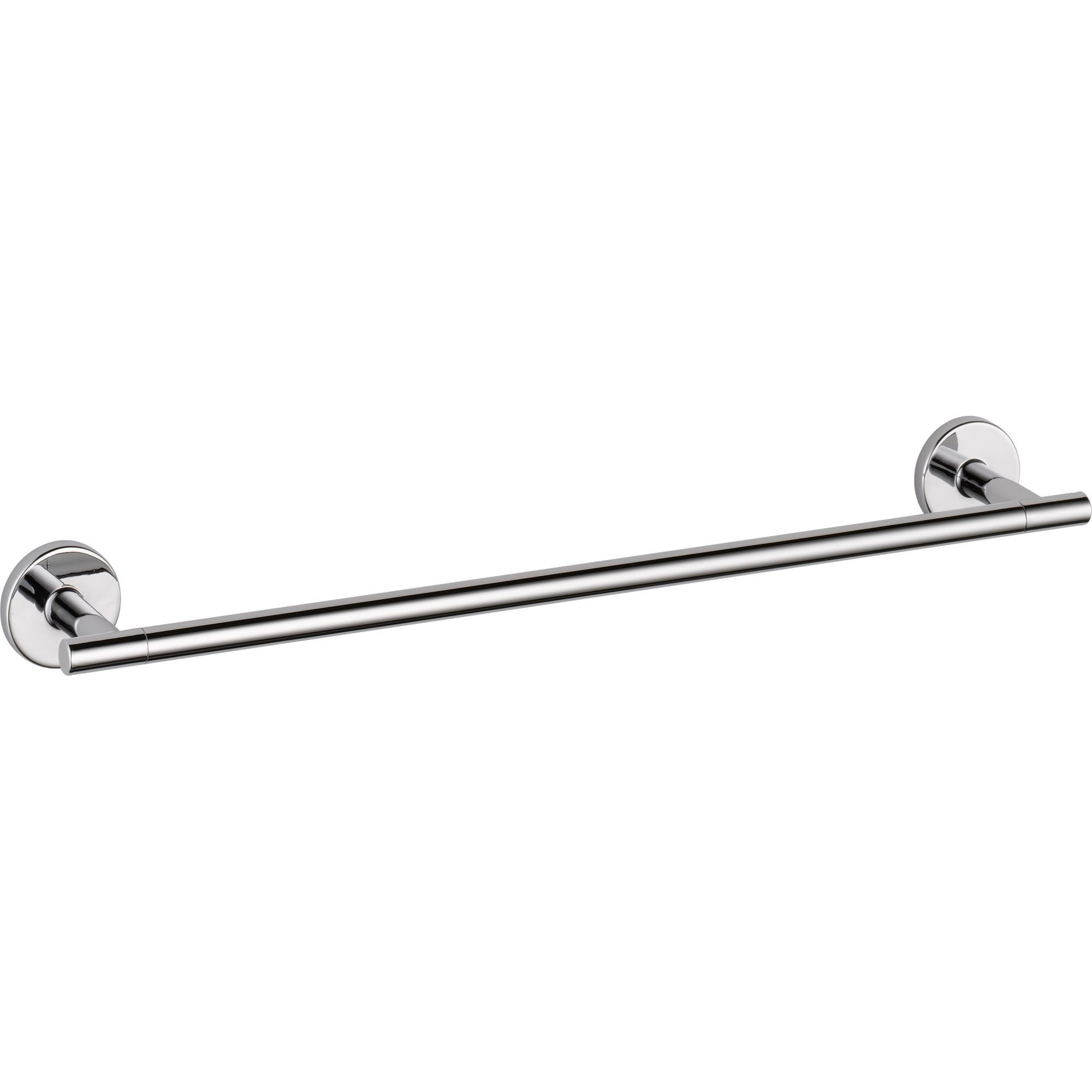 Delta Trinsic Modern Contemporary 18 inch Chrome Single Towel Bar 590173