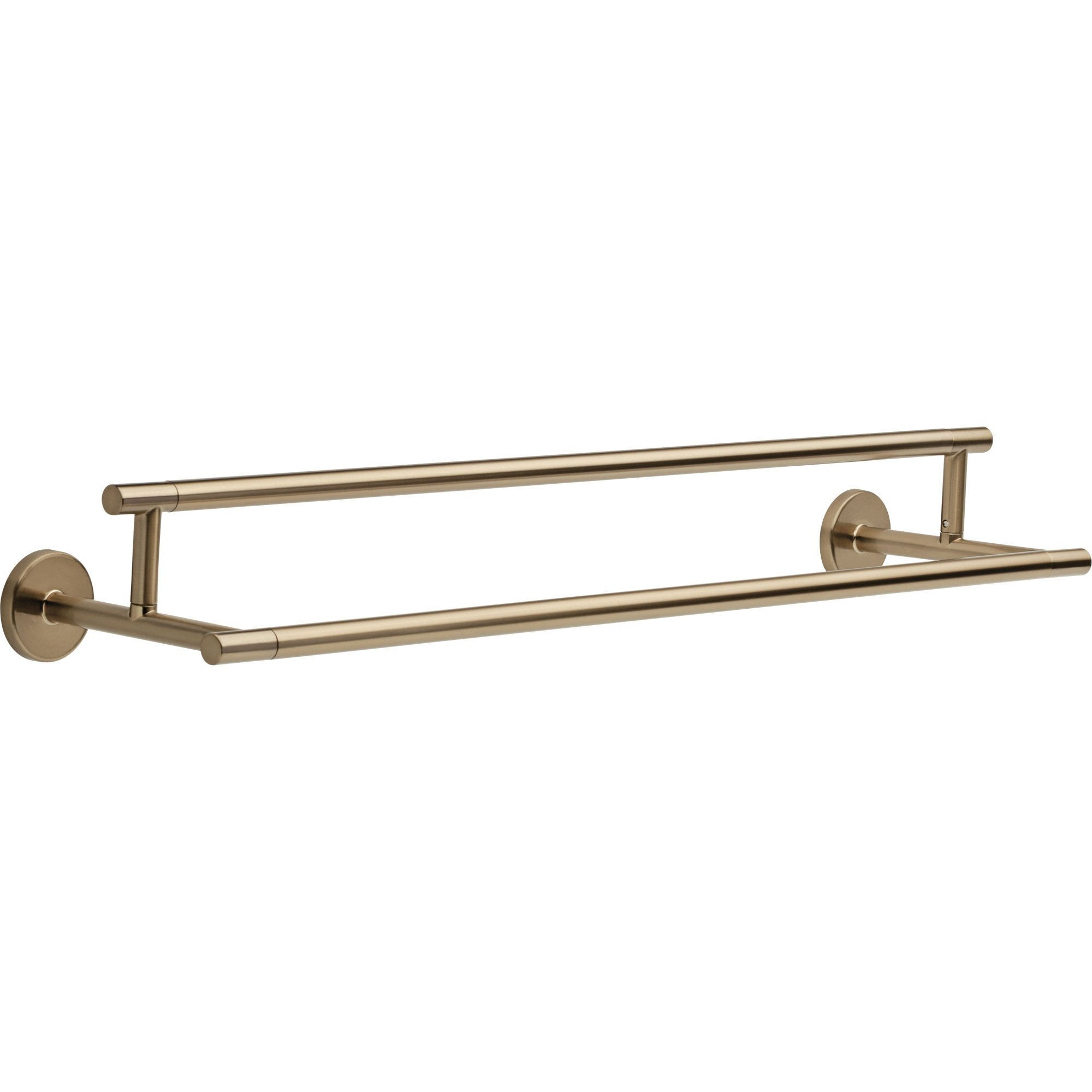 Delta Trinsic Modern 24 inch Champagne Bronze Double Towel Bar 638754