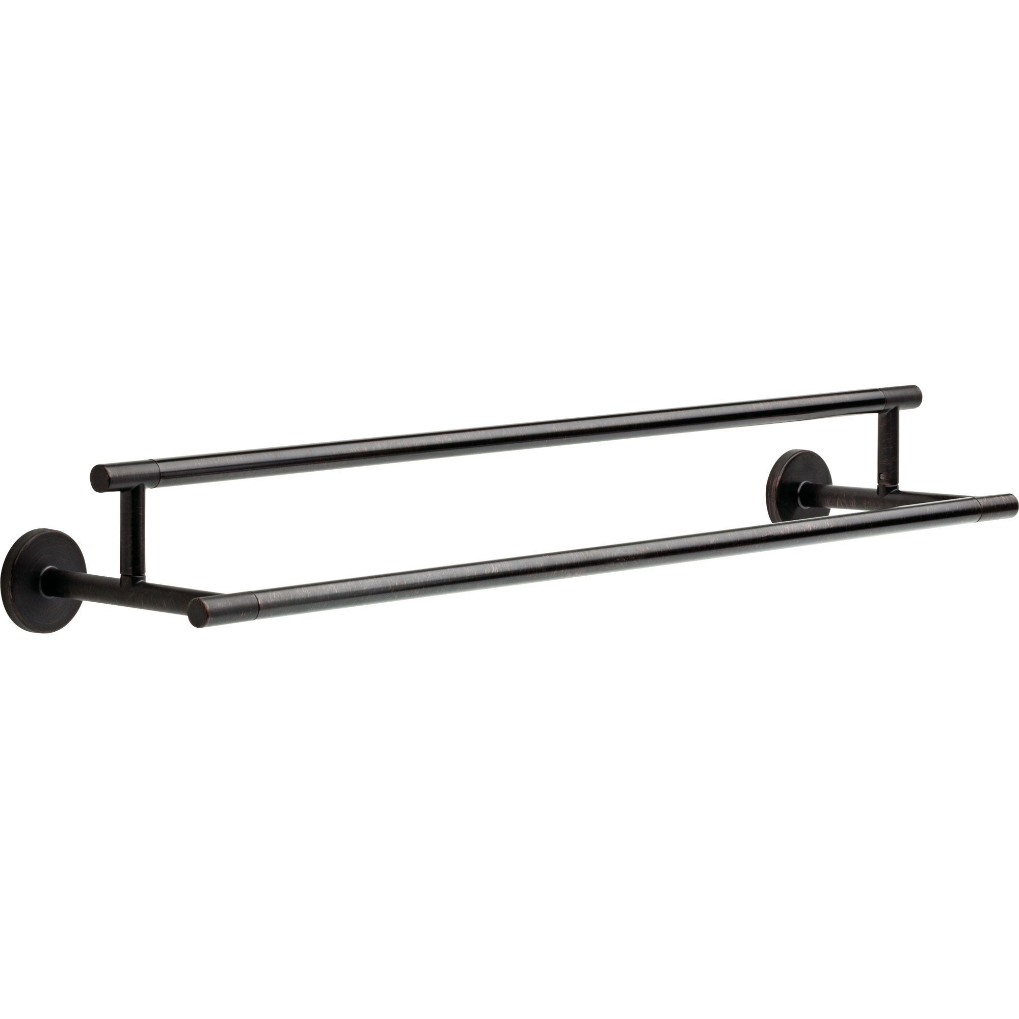 Delta Trinsic Modern 24 inch Venetian Bronze Double Towel Bar 638755
