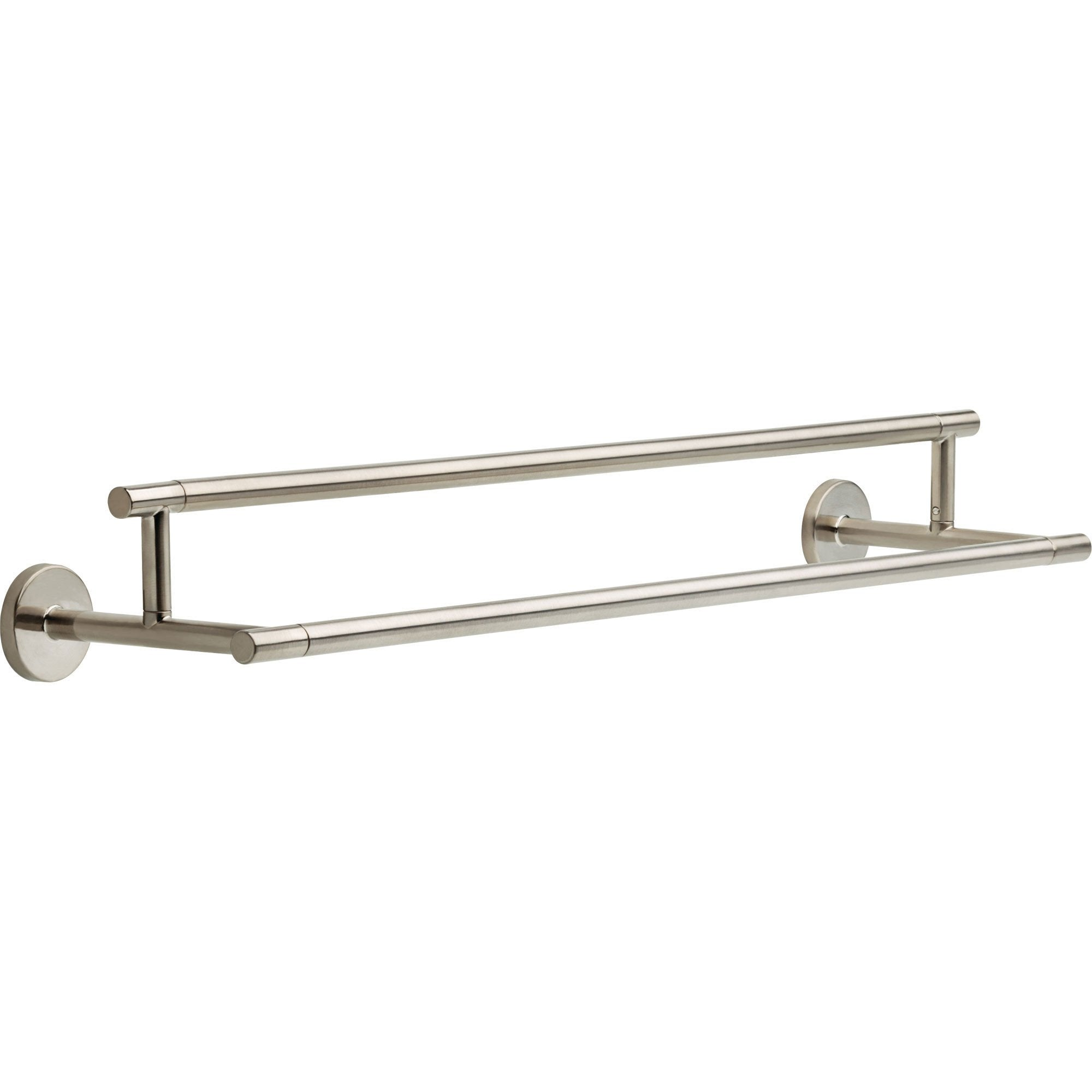 Delta Trinsic Modern 24 inch Stainless Steel Finish Double Towel Bar 638756