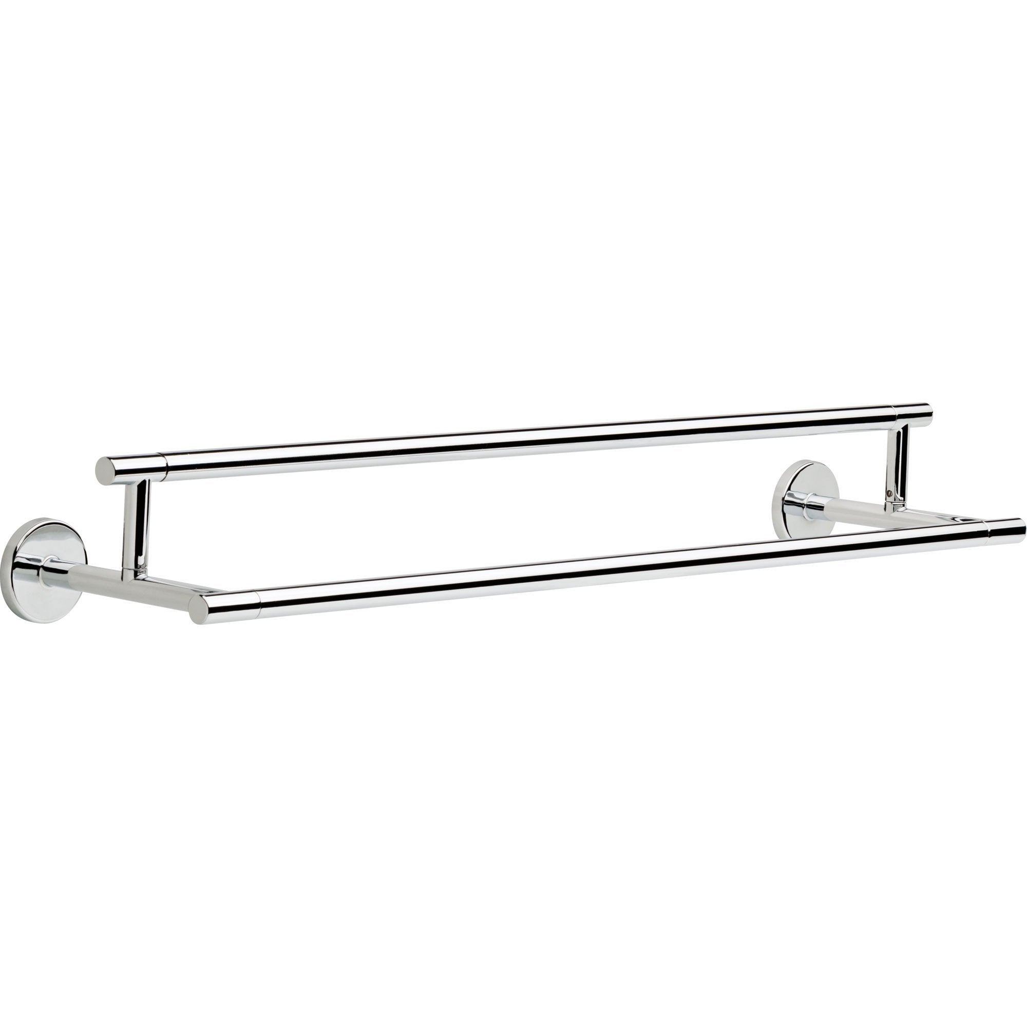 Delta Trinsic Modern Contemporary 24 inch Chrome Double Towel Bar 638712