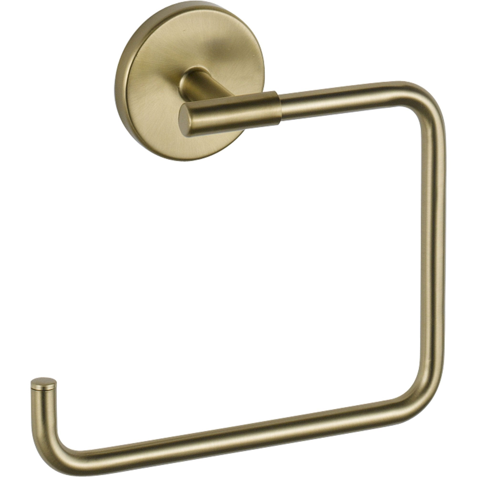 Delta Trinsic Modern Champagne Bronze Hand Towel Ring 590186