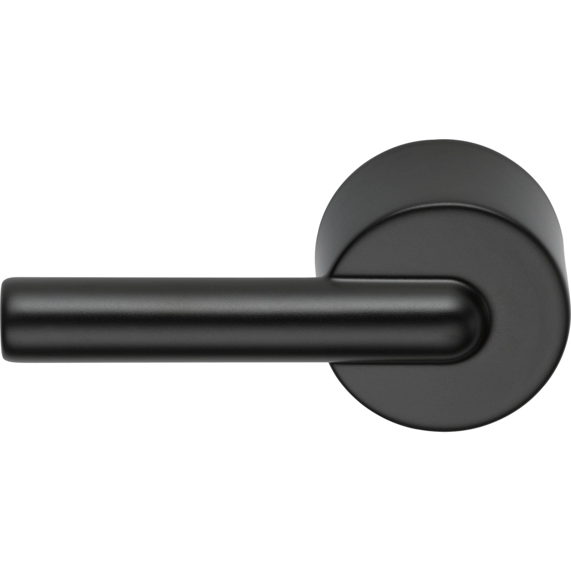 Delta Trinsic Collection Matte Black Finish Modern Universal Mount Toilet Tank Flush Handle Lever D75960BL