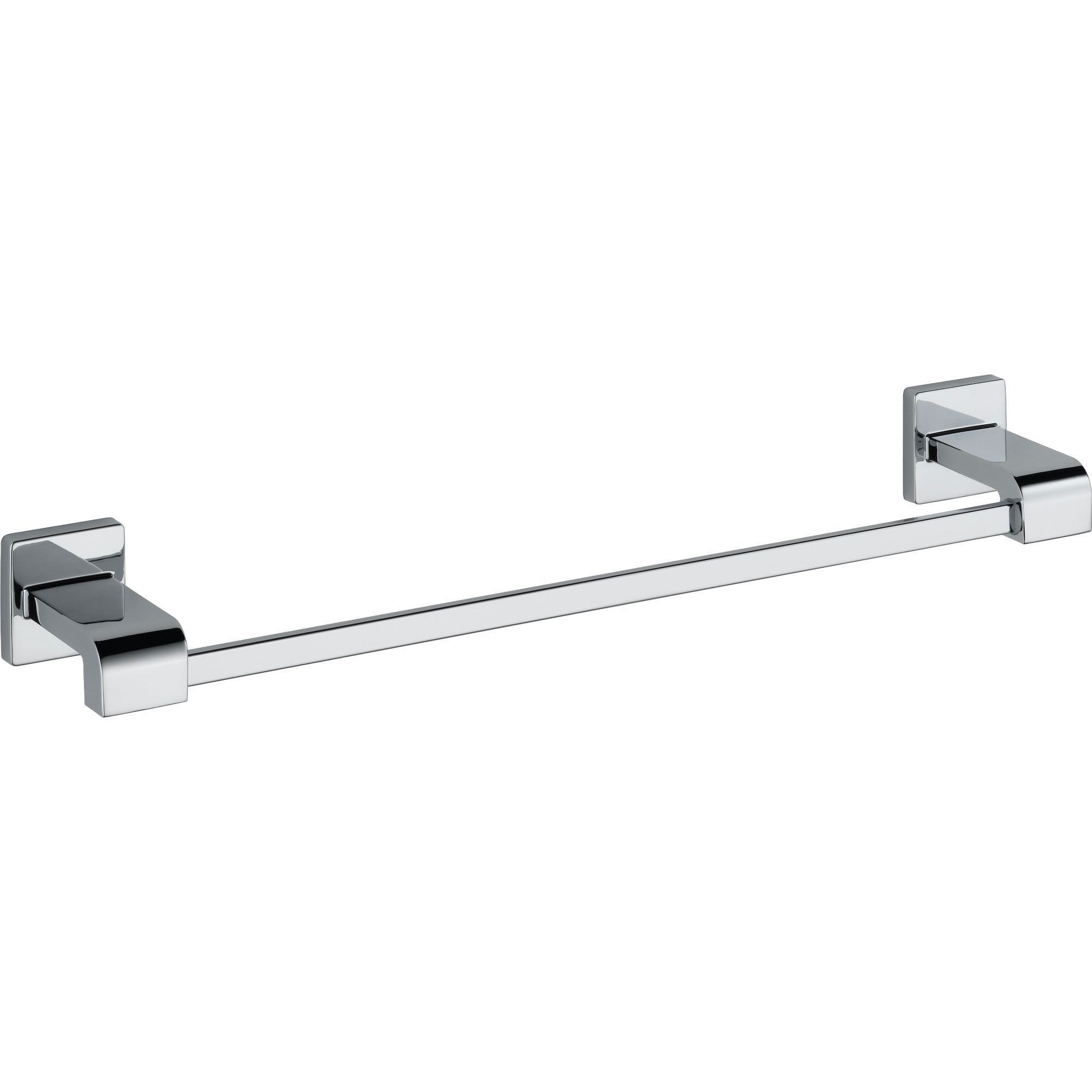 Delta Arzo 18 inch Modern Chrome Single Towel Bar 353037
