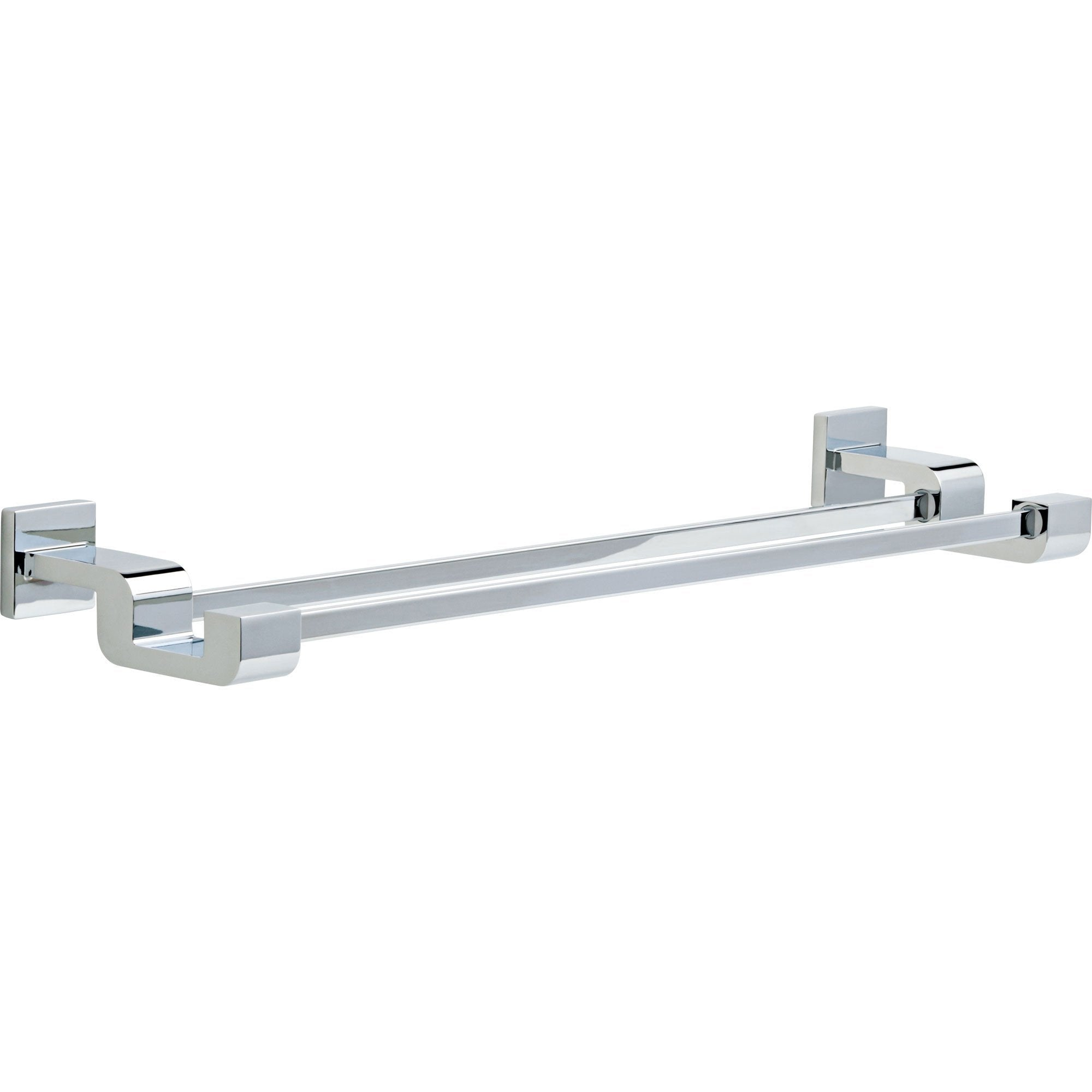 Delta Arzo 24 inch Modern Chrome Double Towel Bar 638718