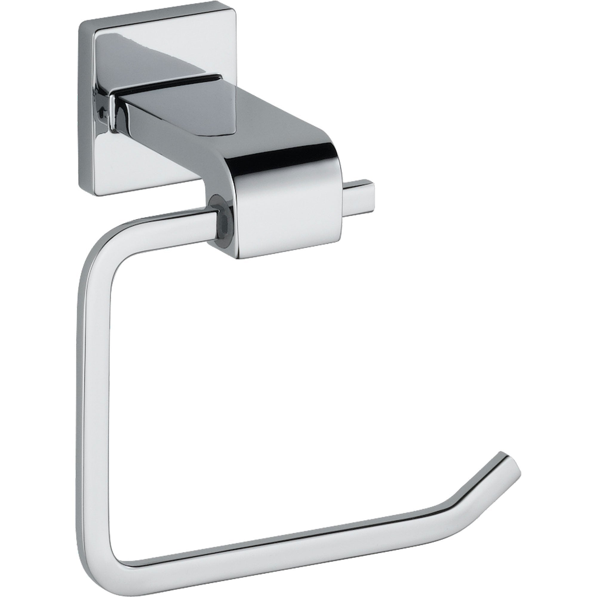 Delta Arzo Modern Chrome Single Post Toilet Tissue Paper Holder 353189