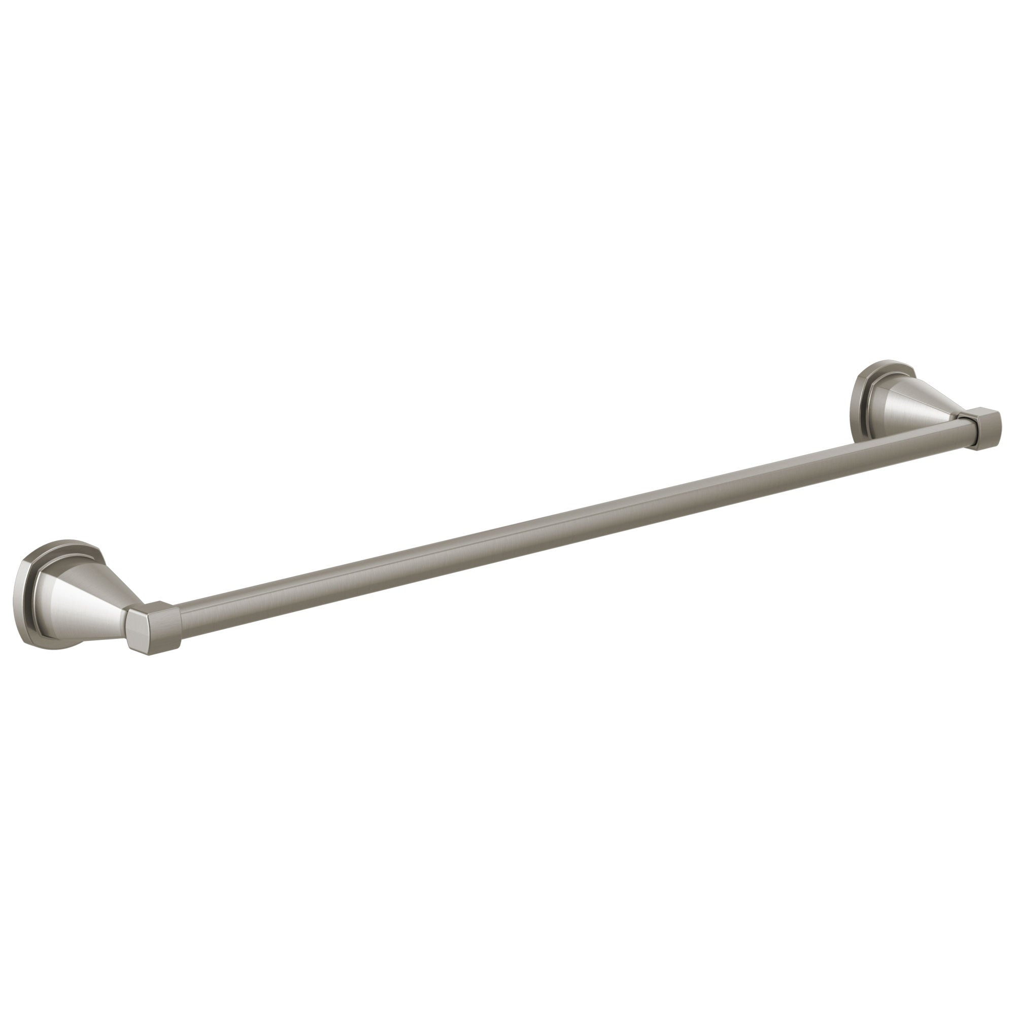 "Delta Stryke Stainless Steel Finish 24"" Single Towel Bar D77624SS"