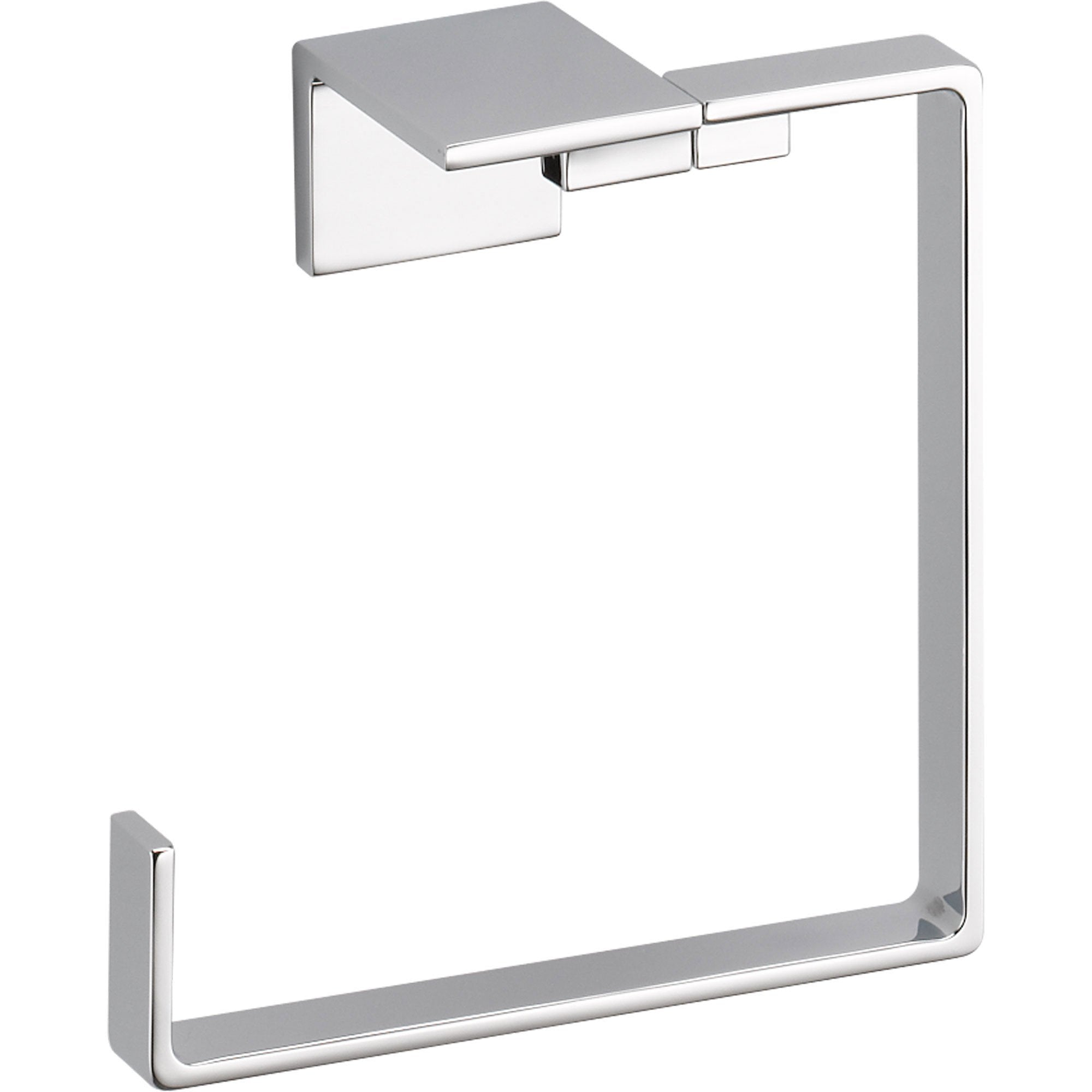 Delta Vero Modern Bathroom Accessory Hand Towel Ring in Chrome 521896