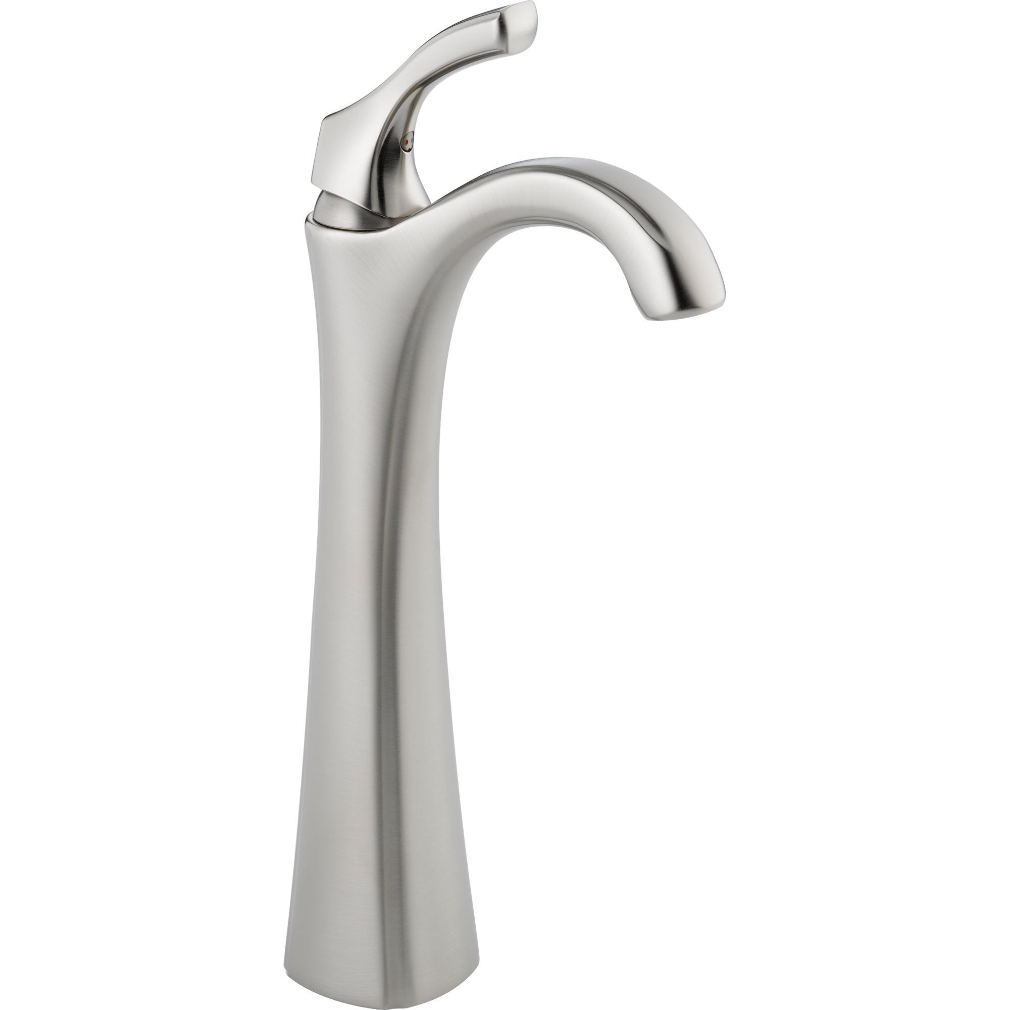 Delta Addison Single Handle Stainless Steel Finish Vessel Sink Faucet    FaucetList.com
