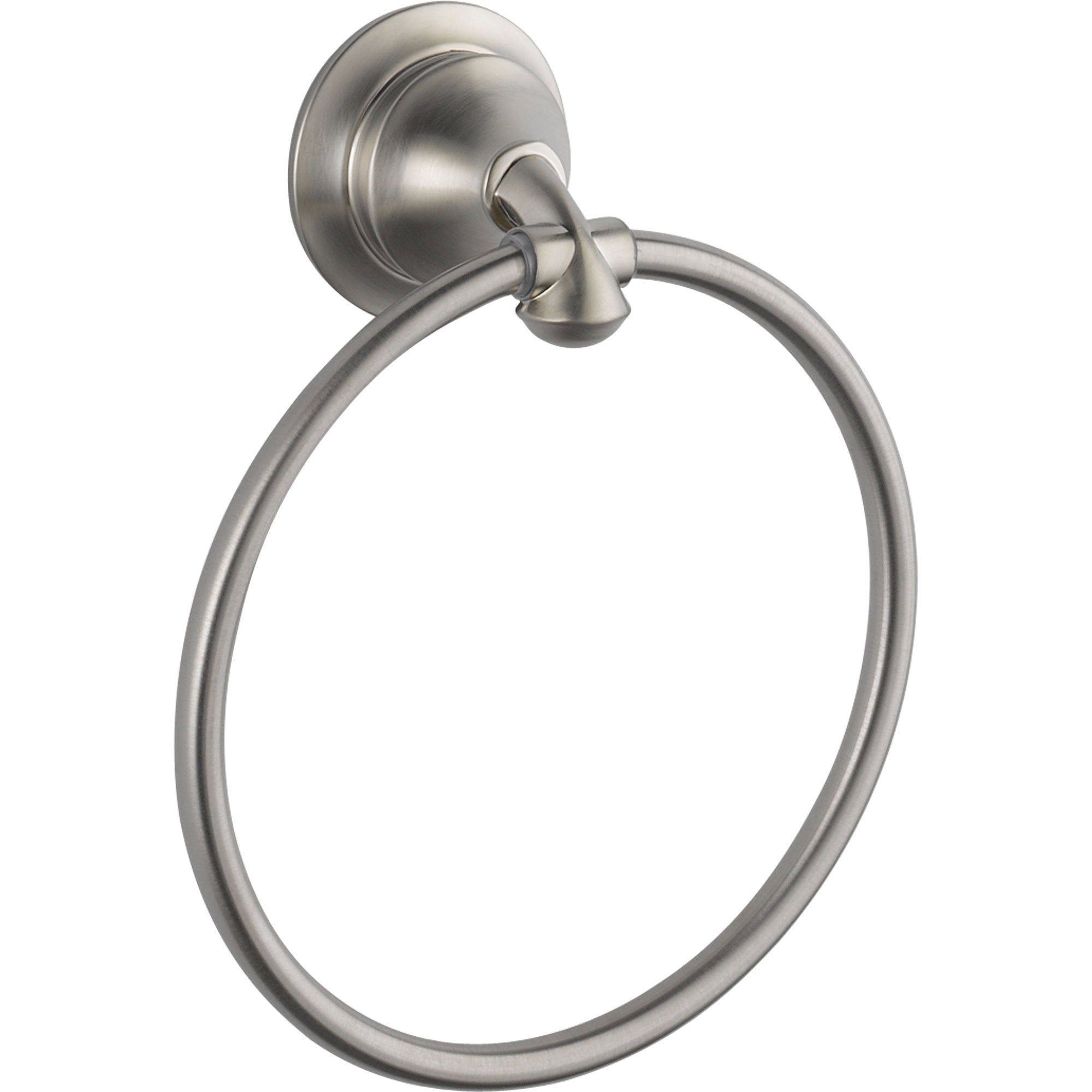Delta Linden Collection Stainless Steel Finish Hand Towel Ring 555668