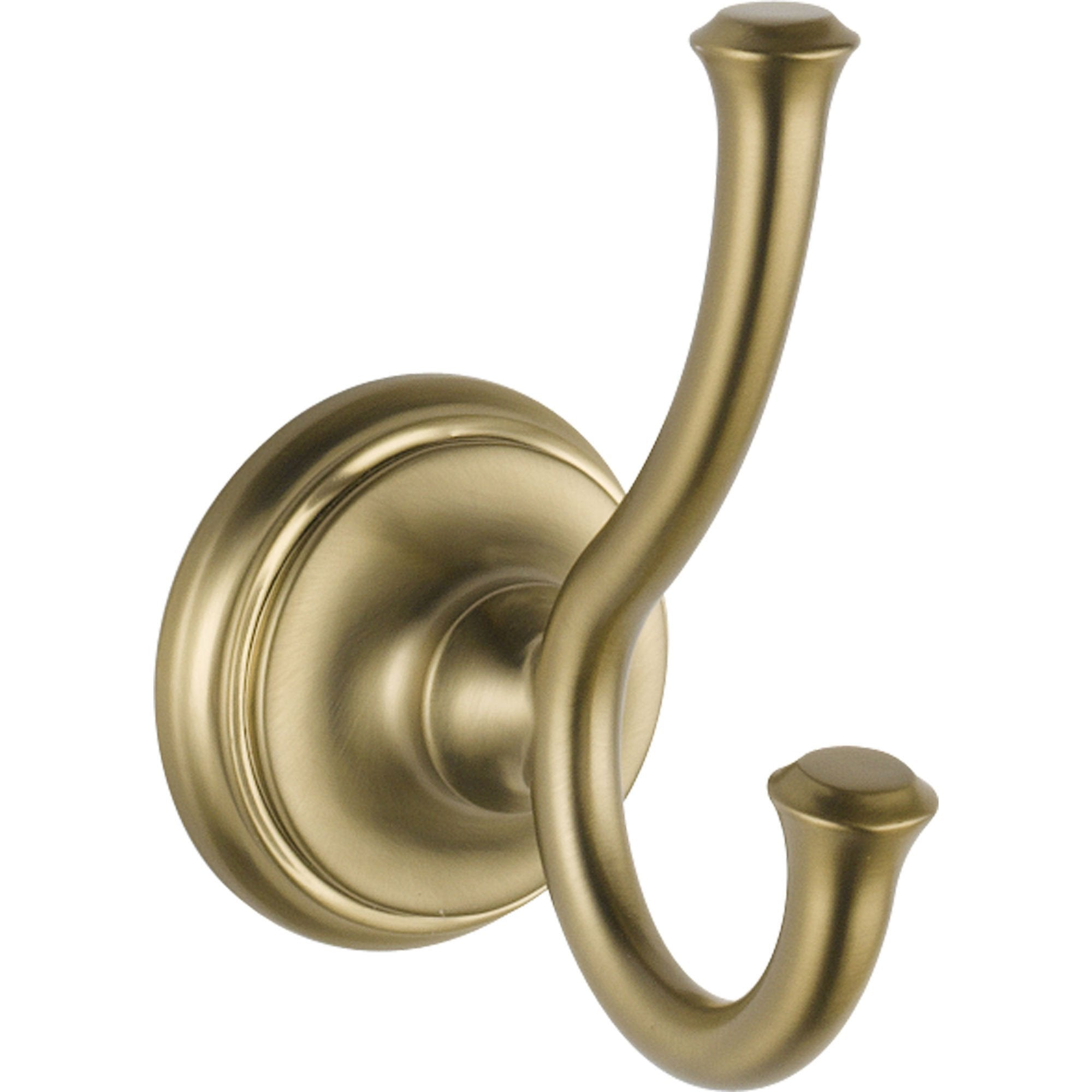 Delta Cassidy Collection Champagne Bronze Double Robe Hook 579556