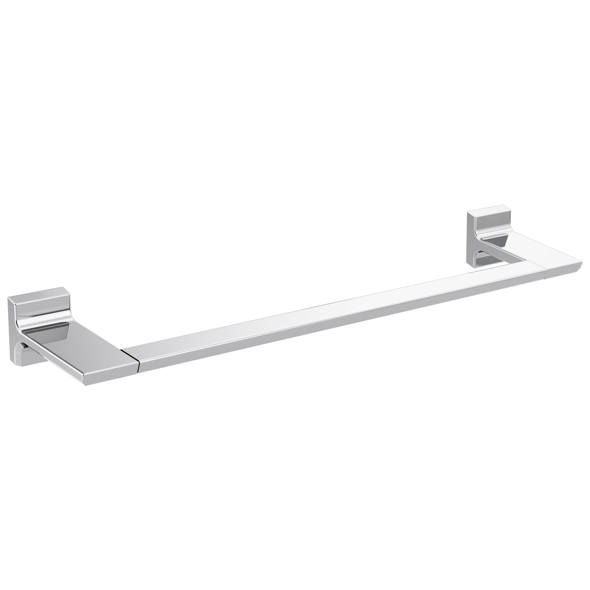 "Delta Pivotal Chrome Finish 18"" Single Towel Bar D79918"