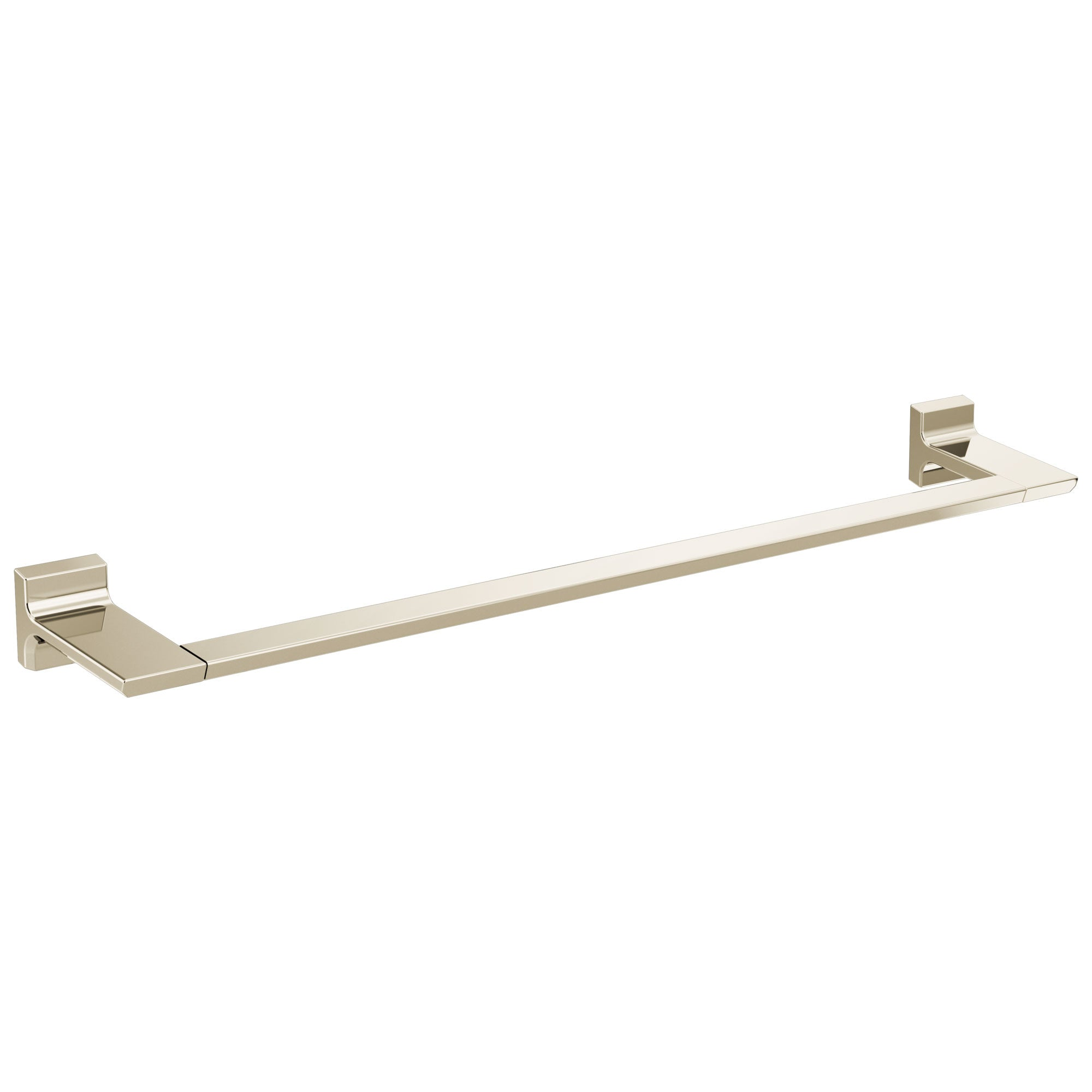 "Delta Pivotal Polished Nickel Finish 24"" Single Towel Bar D79924PN"