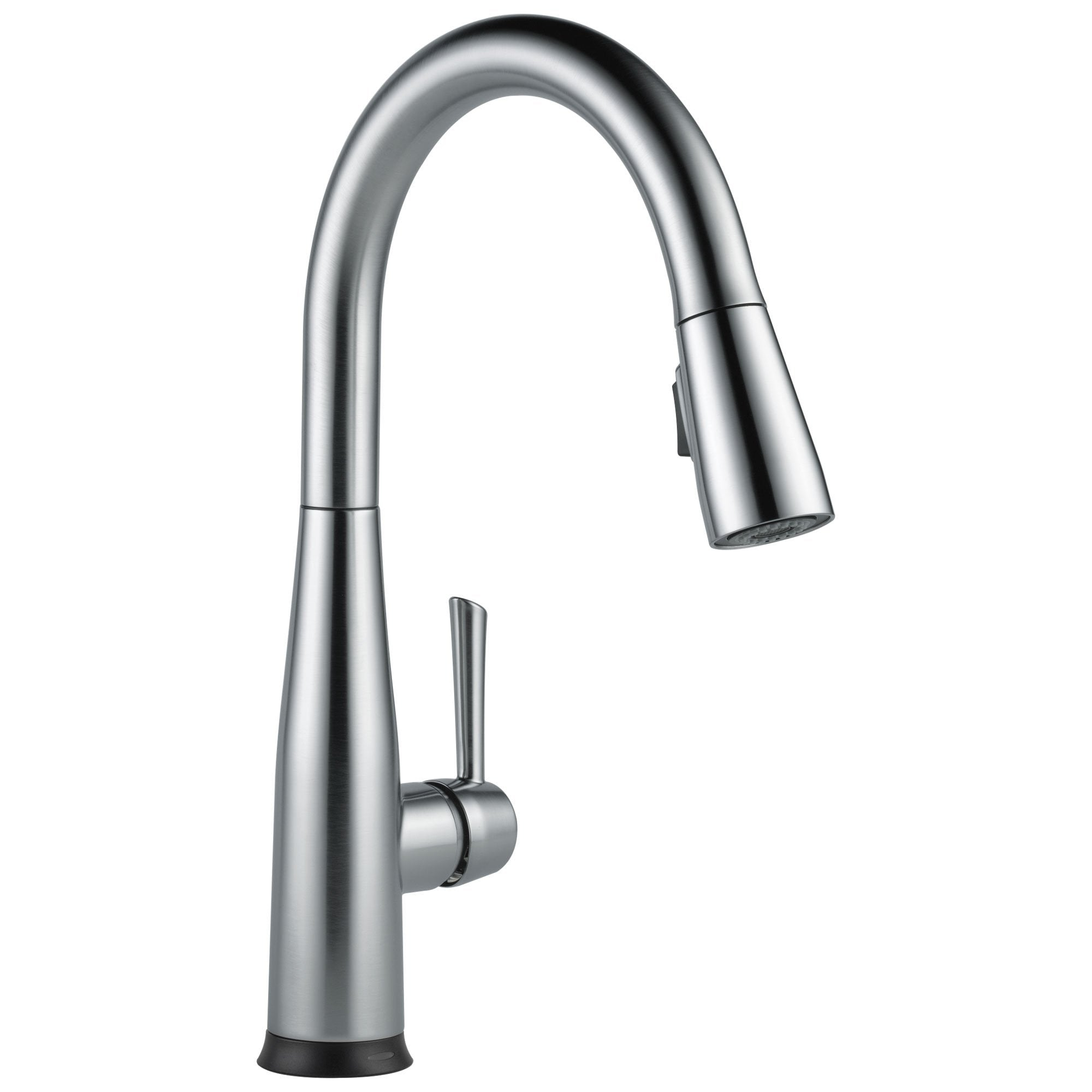 Delta ESSA Arctic Stainless Steel Finish Modern Single Lever Handle Electronic Pull-Down Kitchen Faucet with Touch2O Technology 714319