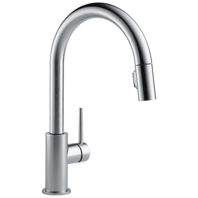 Delta Trinsic Arctic Stainless Steel Finish Single Handle Pull-Down Kitchen Limited Swivel D9159ARLSDST