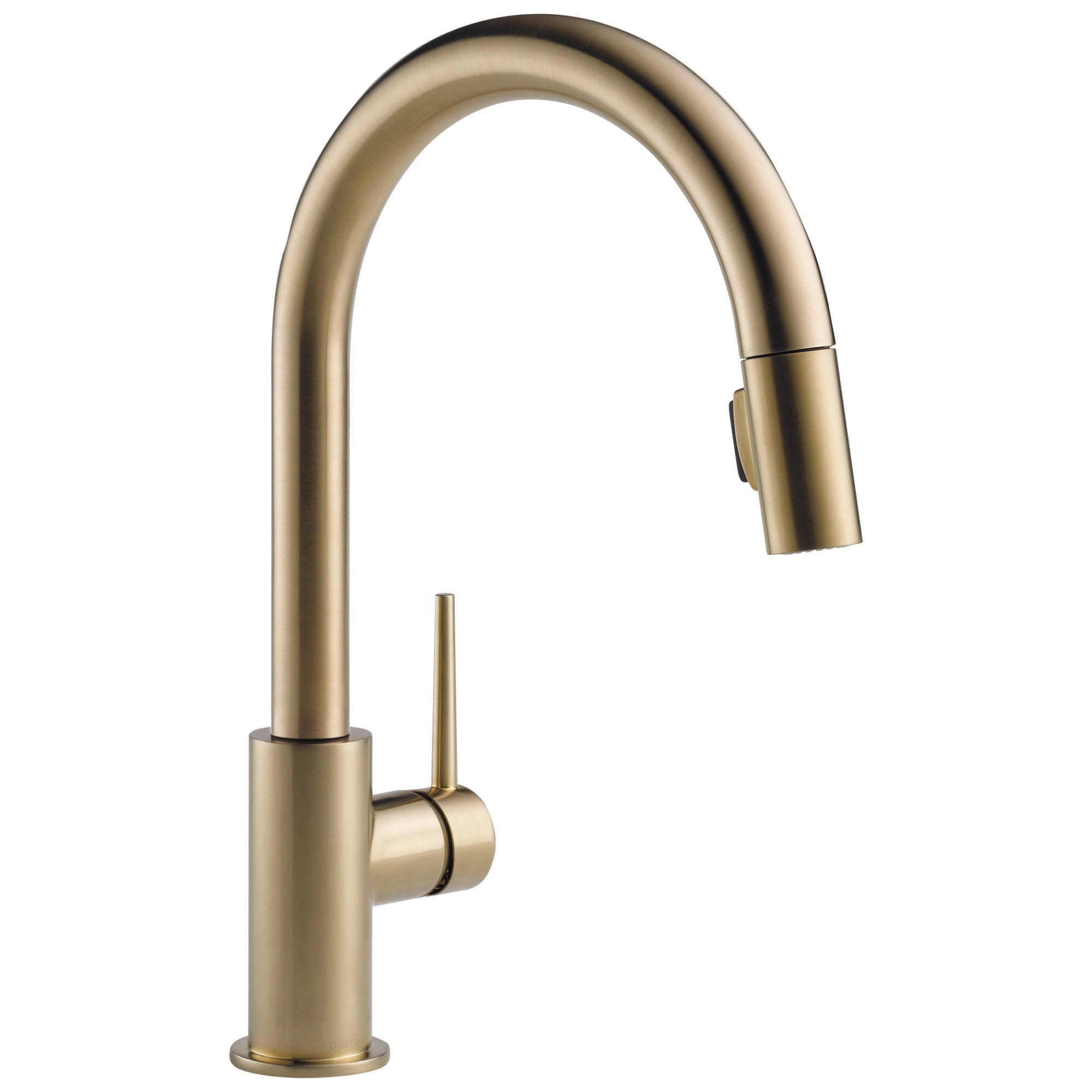 Delta Trinsic Champagne Bronze Finish Single Handle Pull-Down Kitchen Limited Swivel D9159CZLSDST