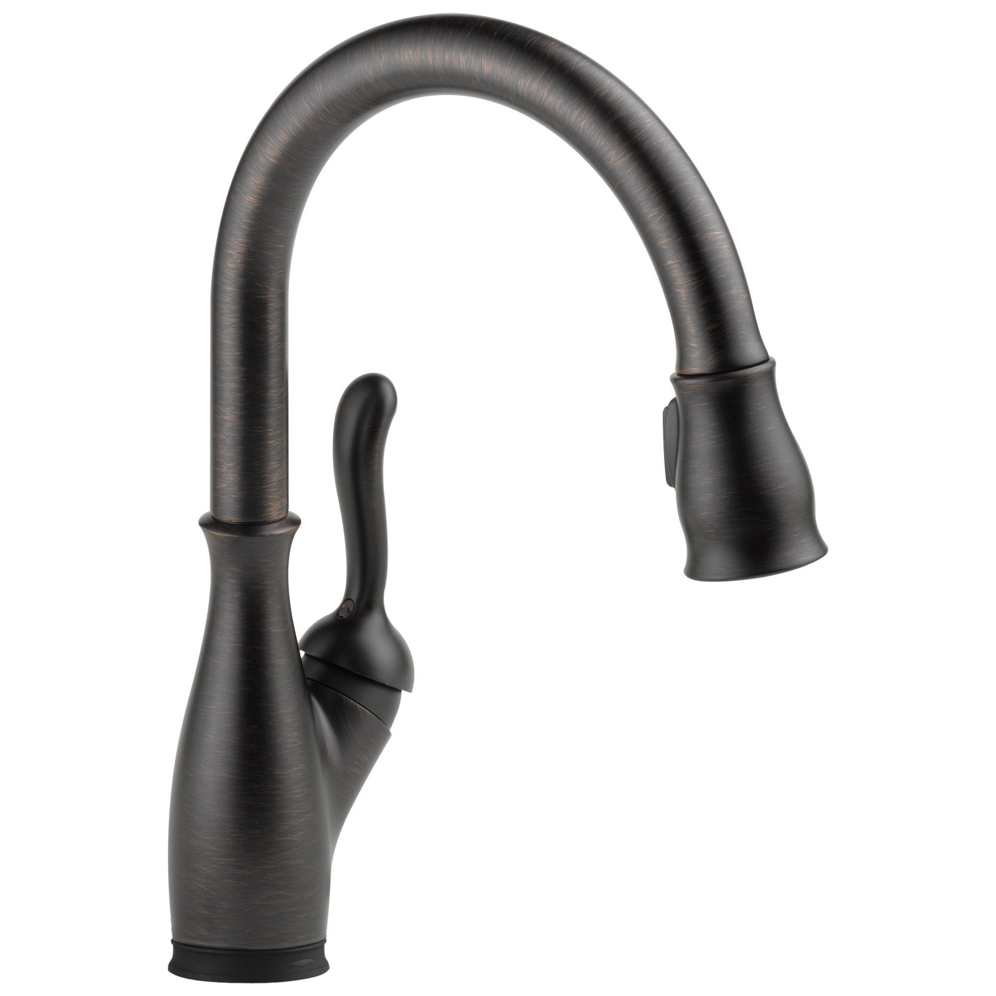 Delta Leland Collection Venetian Bronze Finish Single Lever Handle Electronic Pull-Down Kitchen Sink Faucet with Touch2O Technology 731028