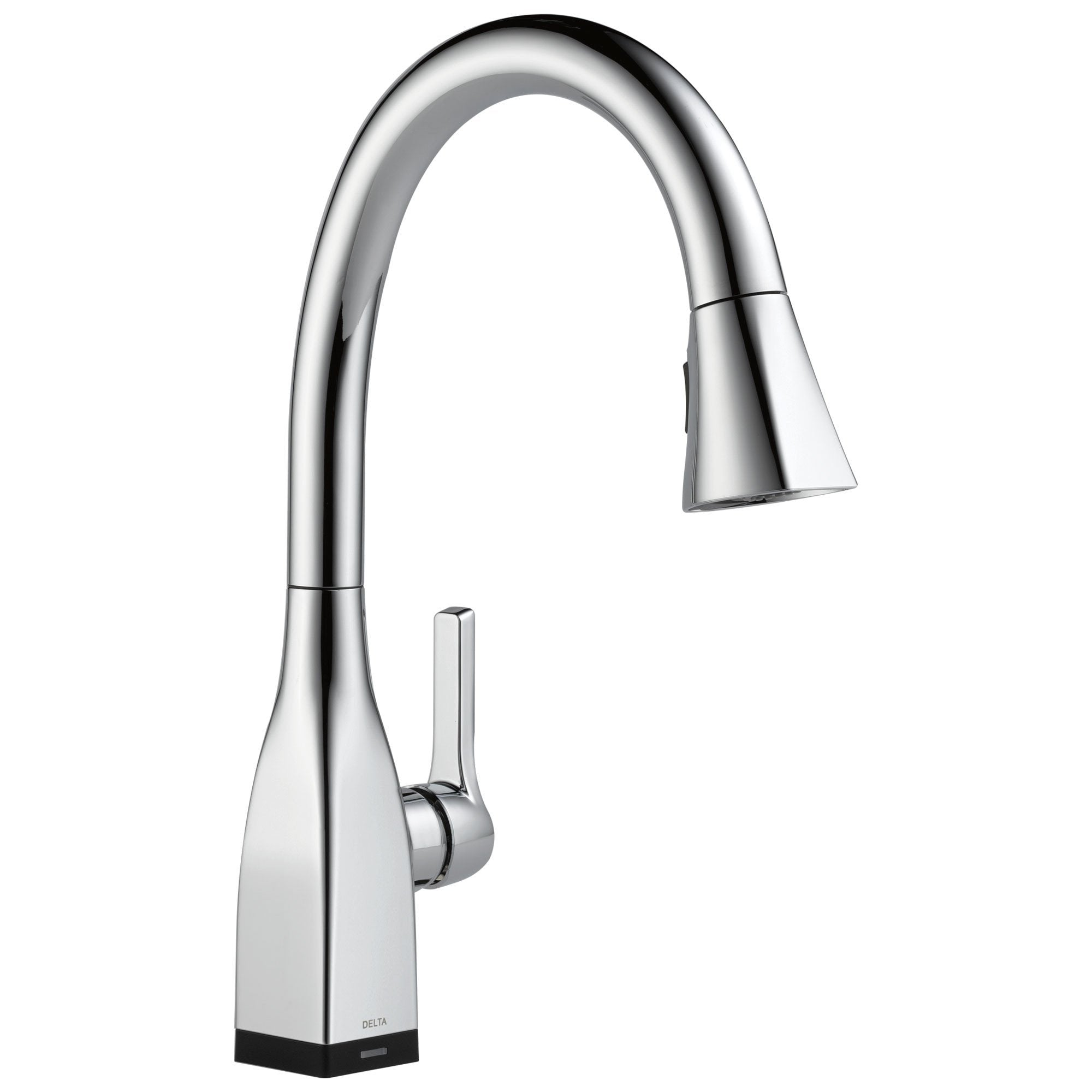 Delta Mateo Collection Chrome Finish Single Handle Pull-Down Electronic Kitchen Sink Faucet with Touch2O Technology 732798