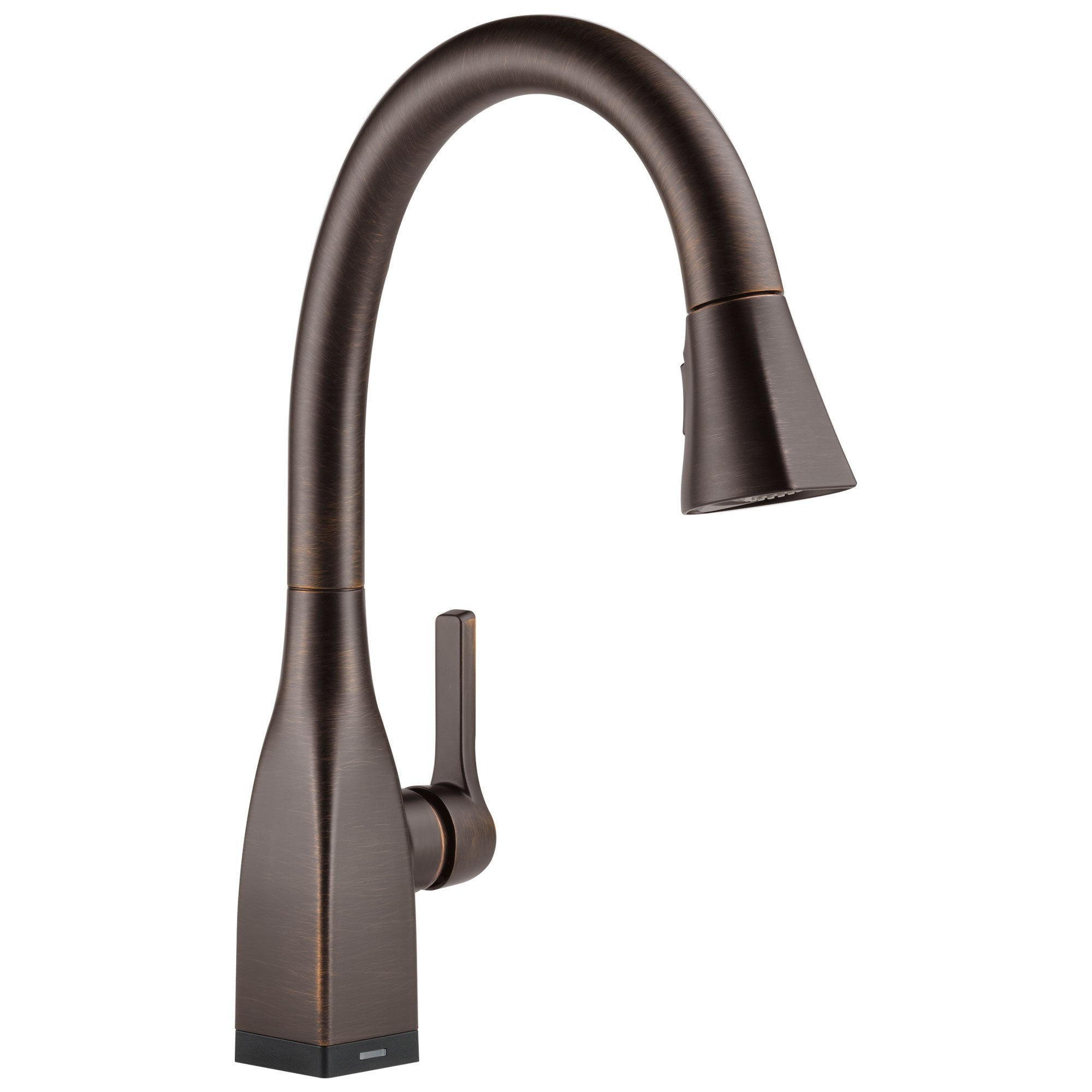 Delta Mateo Collection Venetian Bronze Finish Single Handle Pull-Down Electronic Kitchen Sink Faucet with Touch2O Technology 732801