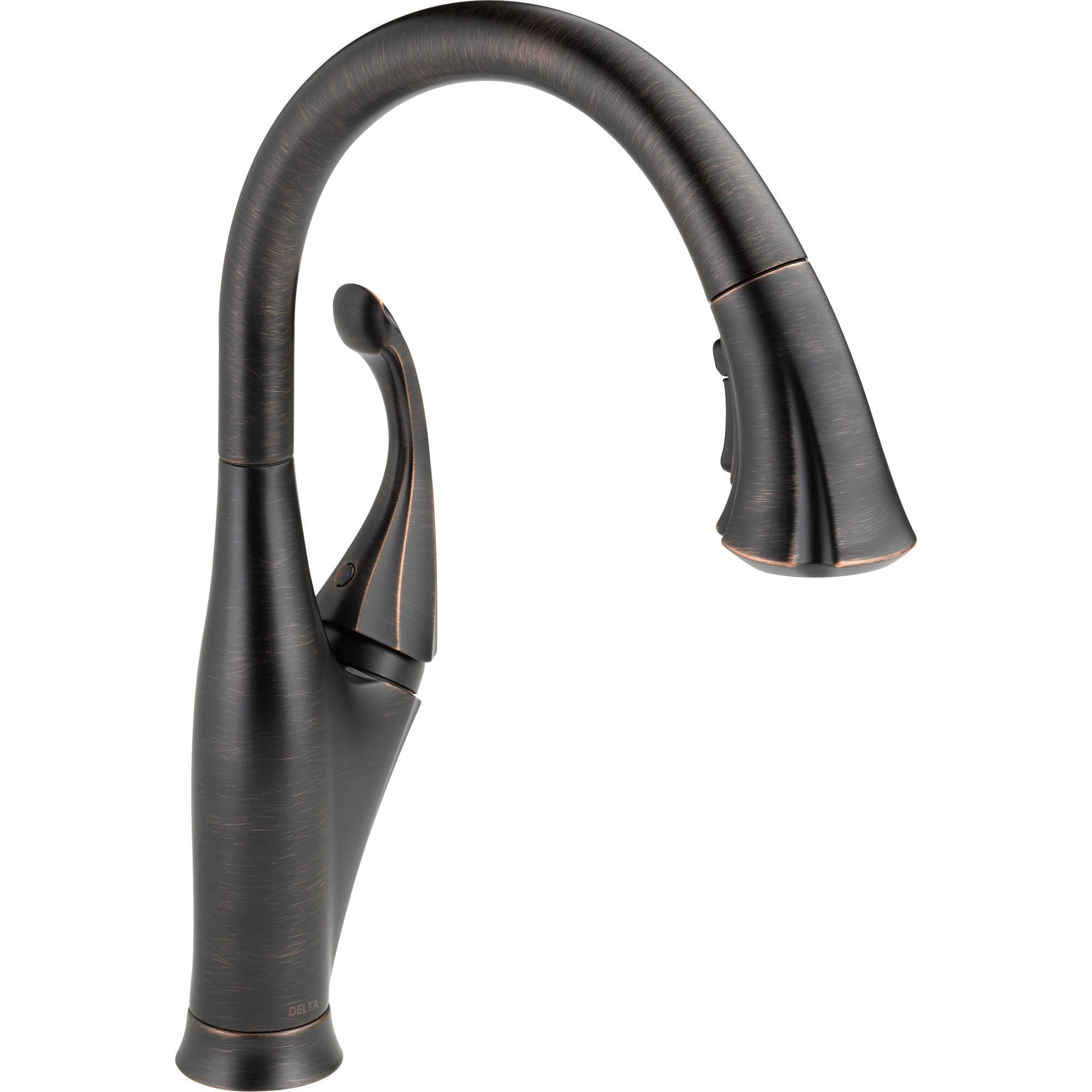 Delta Venetian Bronze Single Handle Pull-Down Spray Kitchen Faucet 521976