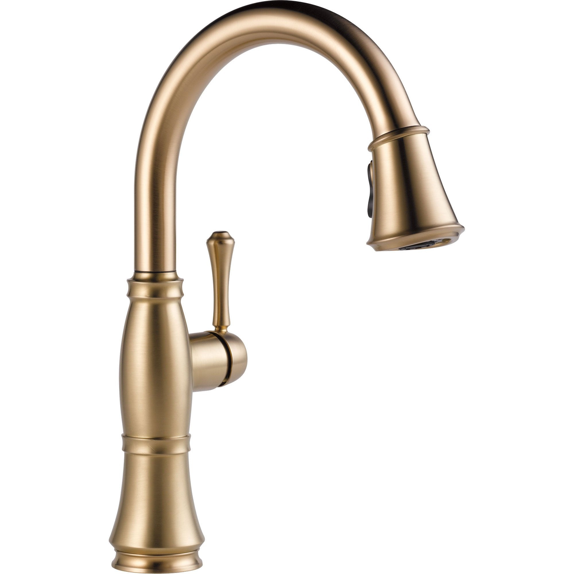 Delta Cassidy Champagne Bronze Finish Pull-Down Sprayer Kitchen Faucet 579590