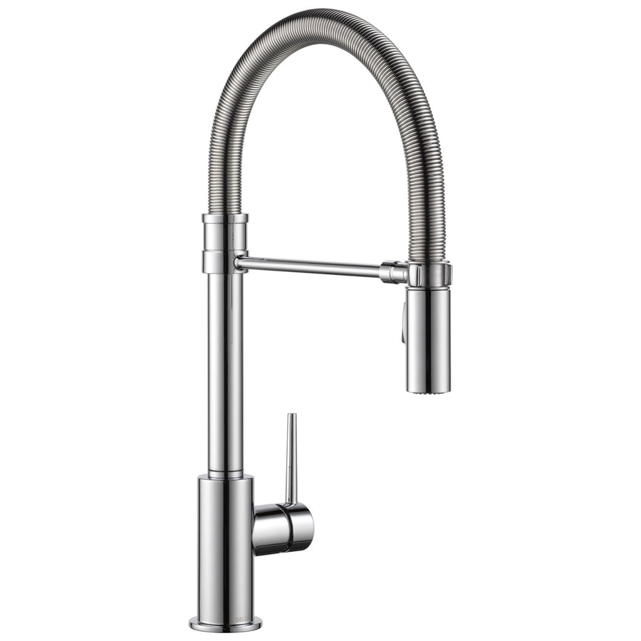 Pre-rinse Kitchen Faucets - Get a Commercial Style Kitchen Sink ...