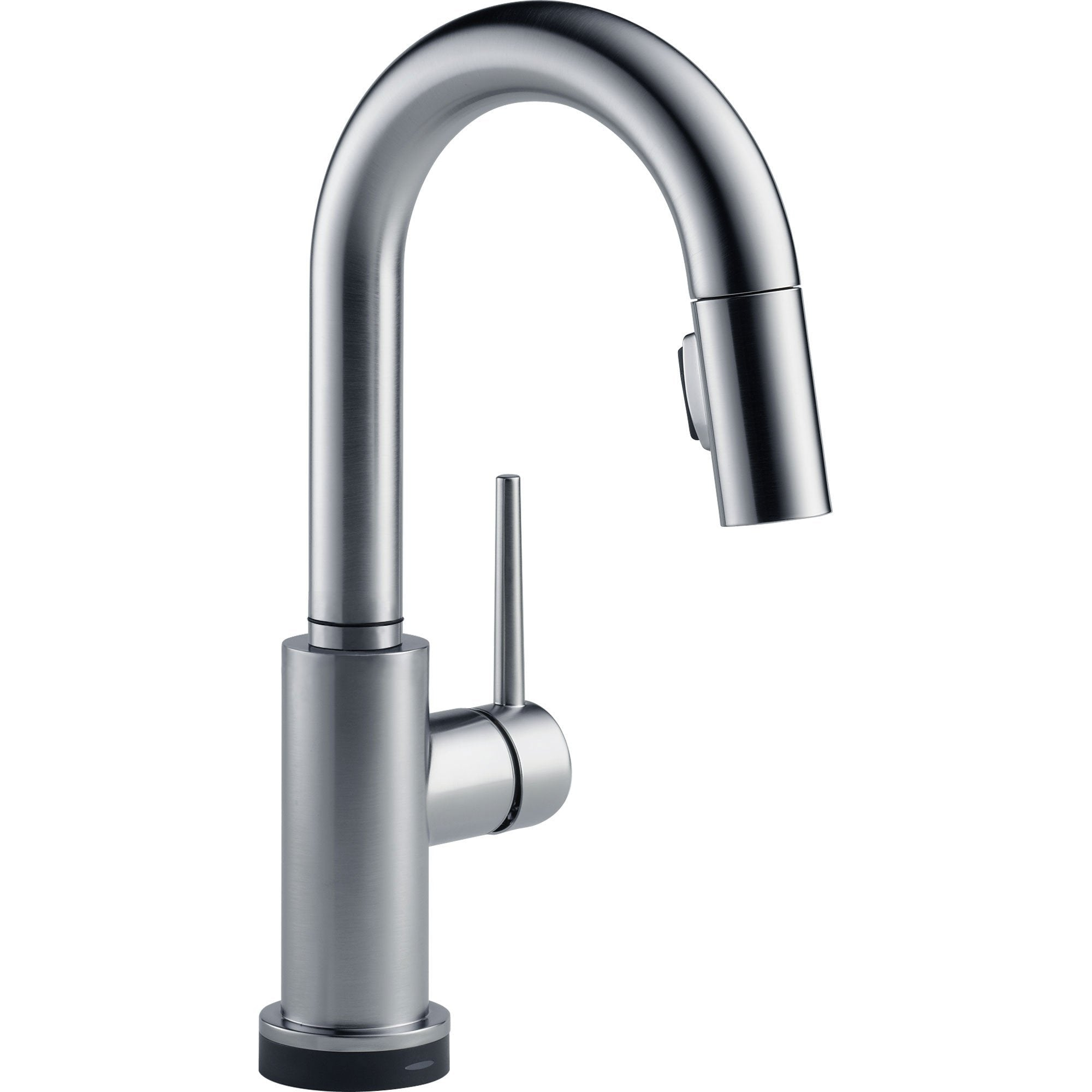 Delta Trinsic Touch2O Modern Arctic Stainless Pull-Down Sprayer Bar Faucet 556059