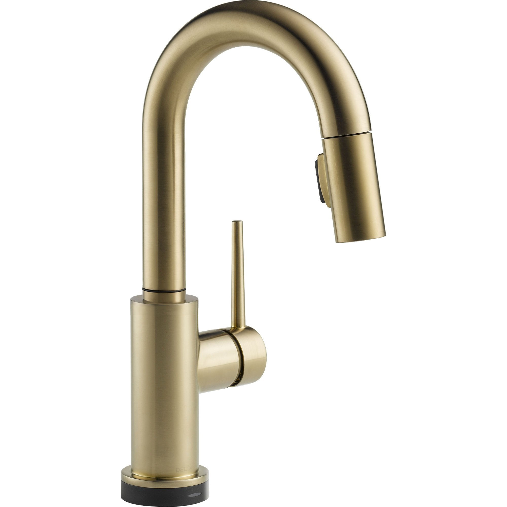 Delta Trinsic Touch2O Modern Champagne Bronze Pull-Out Sprayer Bar Faucet 556060