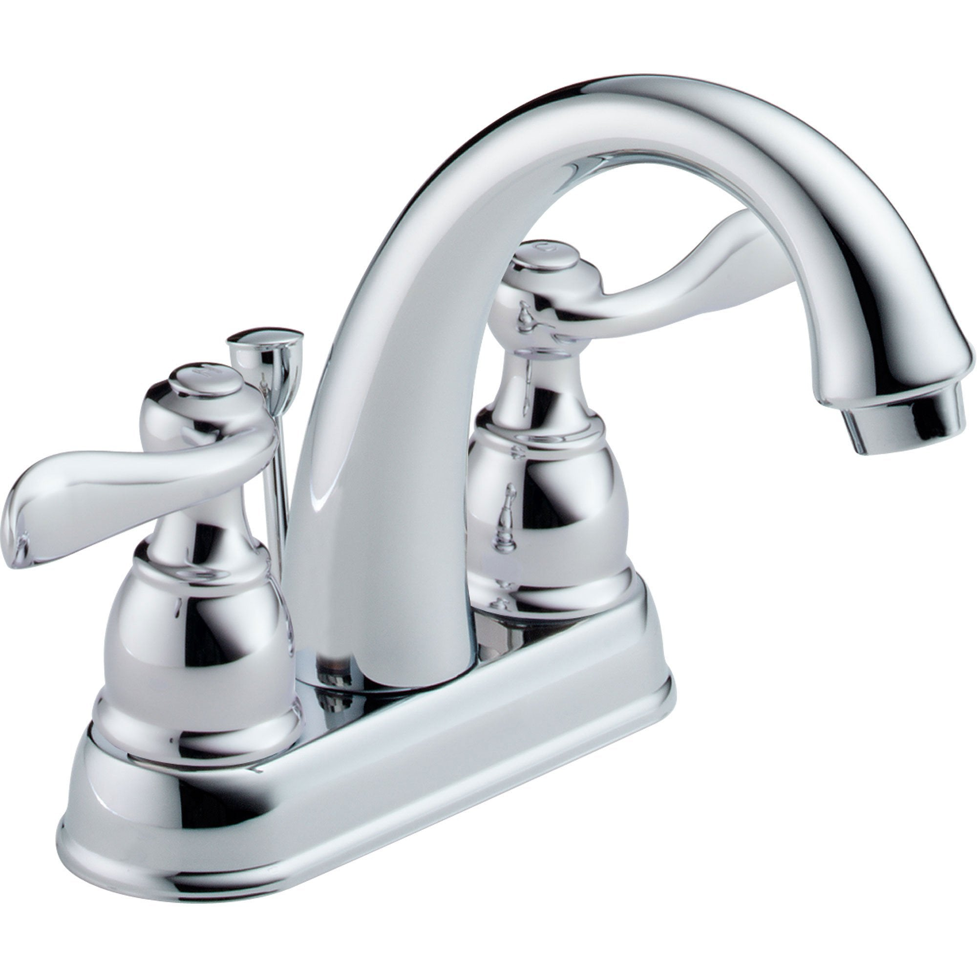 "Delta Windemere 2-Handle Chrome 4"" Centerset Bathroom Sink Faucet 522515"