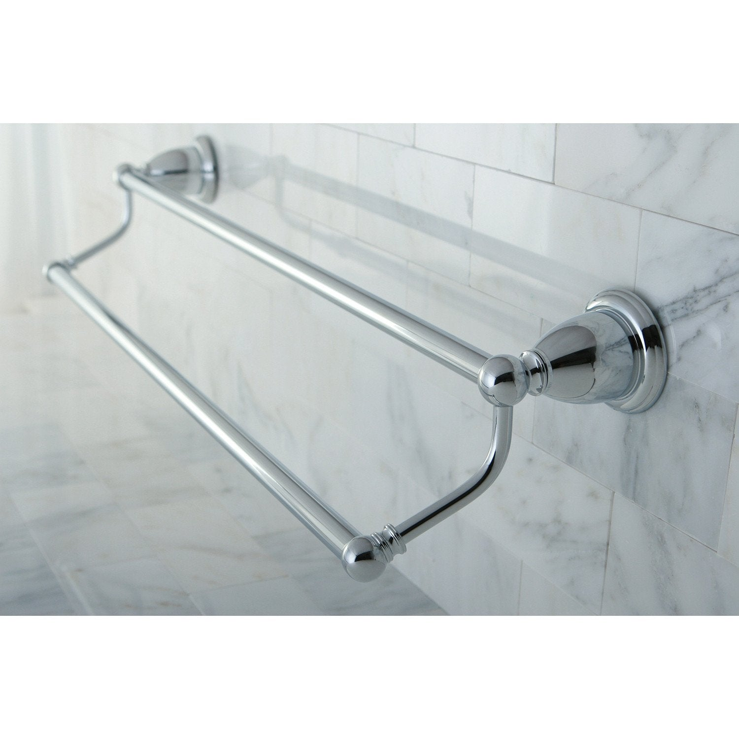 bathroom accessories chrome 24 double towel bar dual towel rack ba1753c