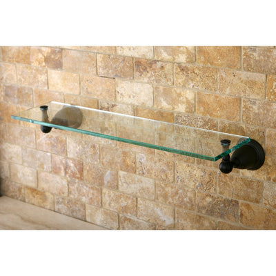 Kingston Tempered Bathroom Oil Rubbed Bronze Glass Shelf BA1759ORB