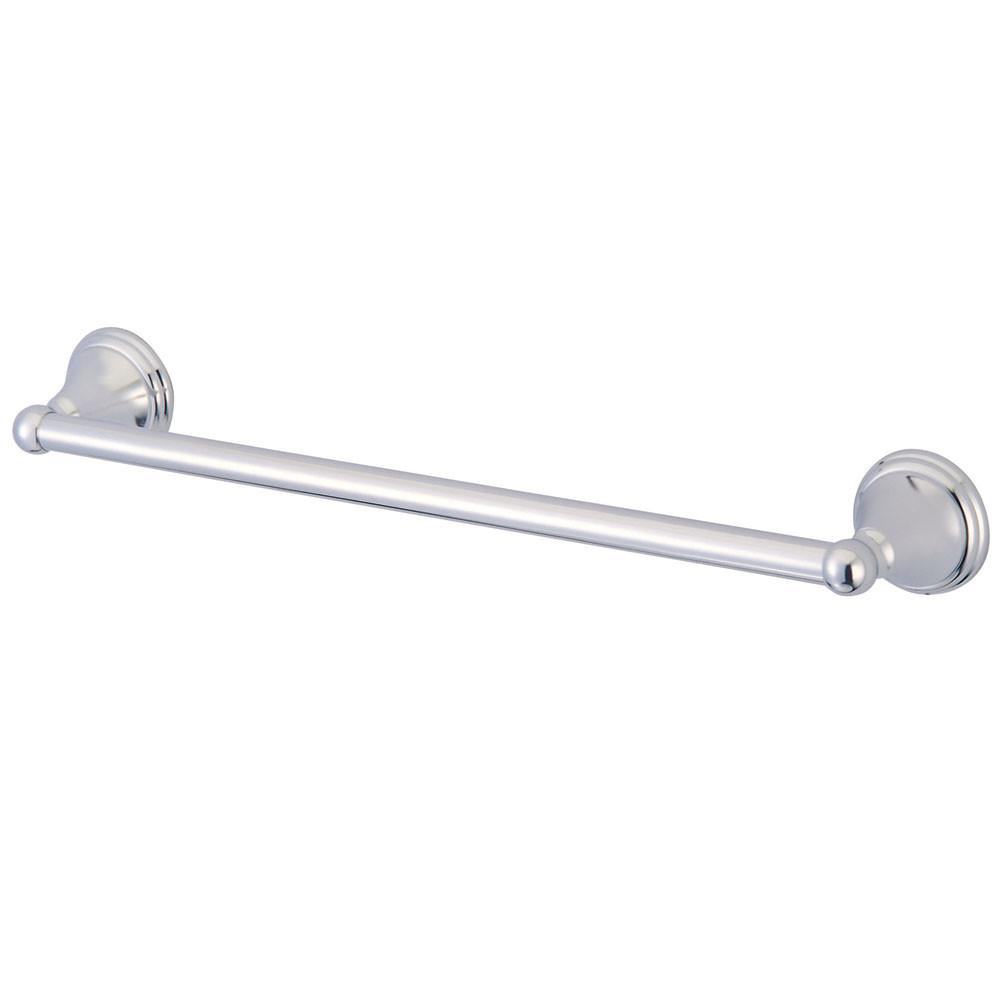 "Kingston Brass Silver Sage Chrome 18"" Towel Bar Rack BA2972C"