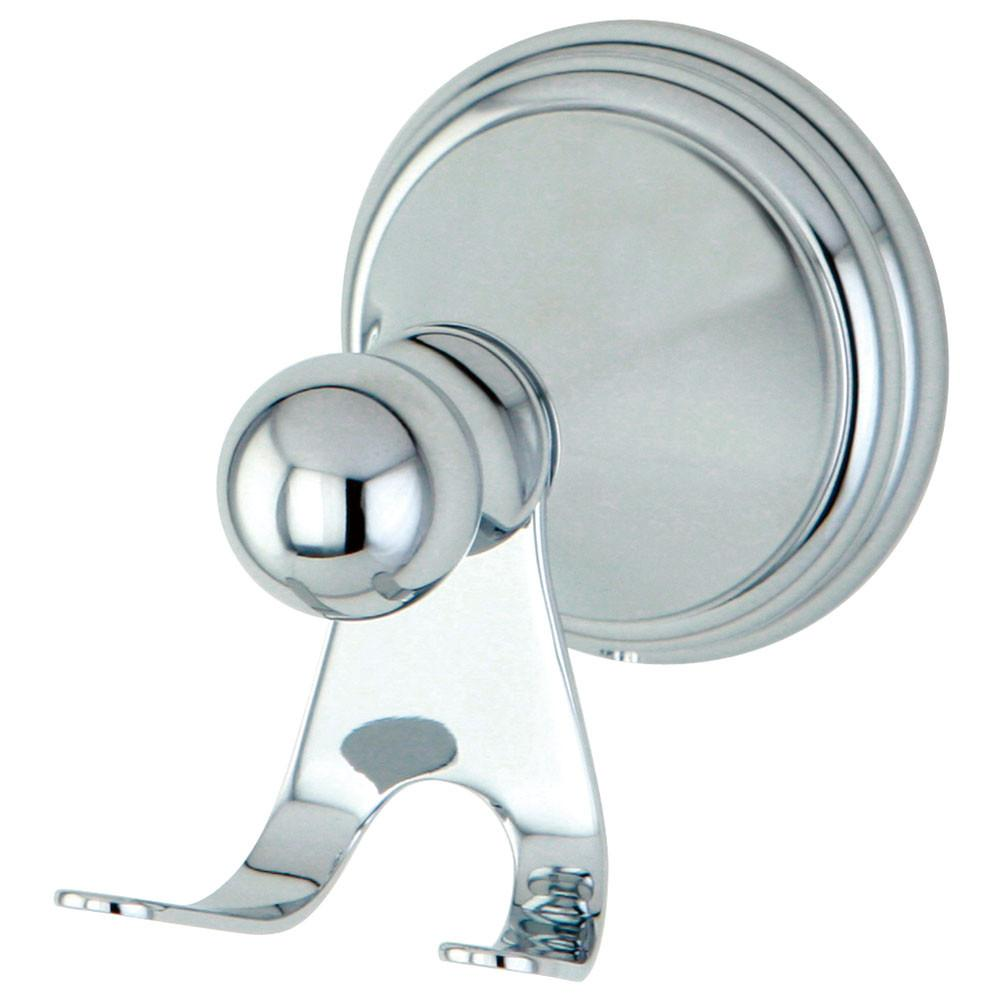 Kingston Brass Silver Sage Chrome Wall Mounted Robe / Towel Hook BA2977C