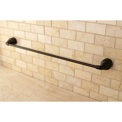 "Kingston Oil Rubbed Bronze Magellan 24"" towel rack single towel bar BA601ORB"