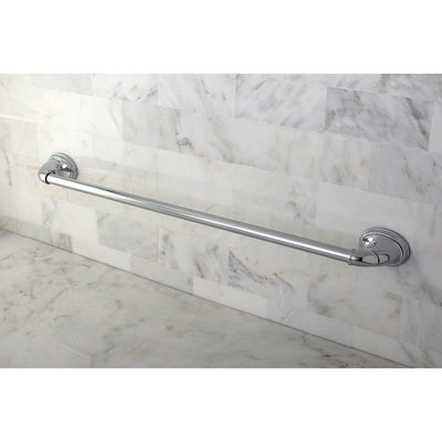 "Kingston Brass Chrome Magellan ii 24"" towel rack single towel bar BA621C"