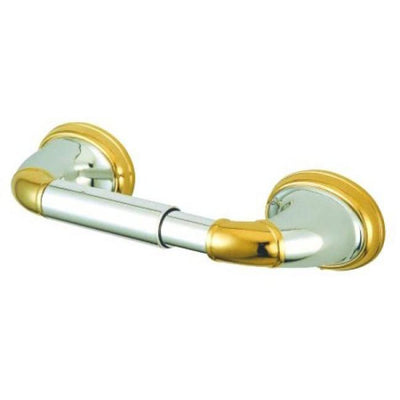 Kingston Satin Nickel/Polished Brass Magellan ii toilet paper holder BA628SNPB