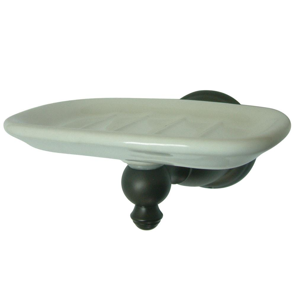 Kingston Oil Rubbed Bronze English Vintage Wall Mounted Soap Dish BA7975ORB