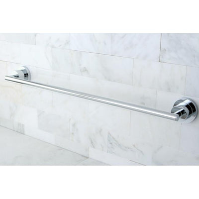 "Kingston Brass Concord Bathroom Accessories Chrome 24"" Towel Bar BA8211C"