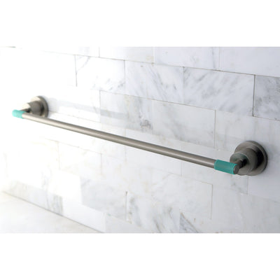 "Kingston Green Eden Satin Nickel Bathroom Accessory: 18"" Towel Bar BA8212SNDGL"