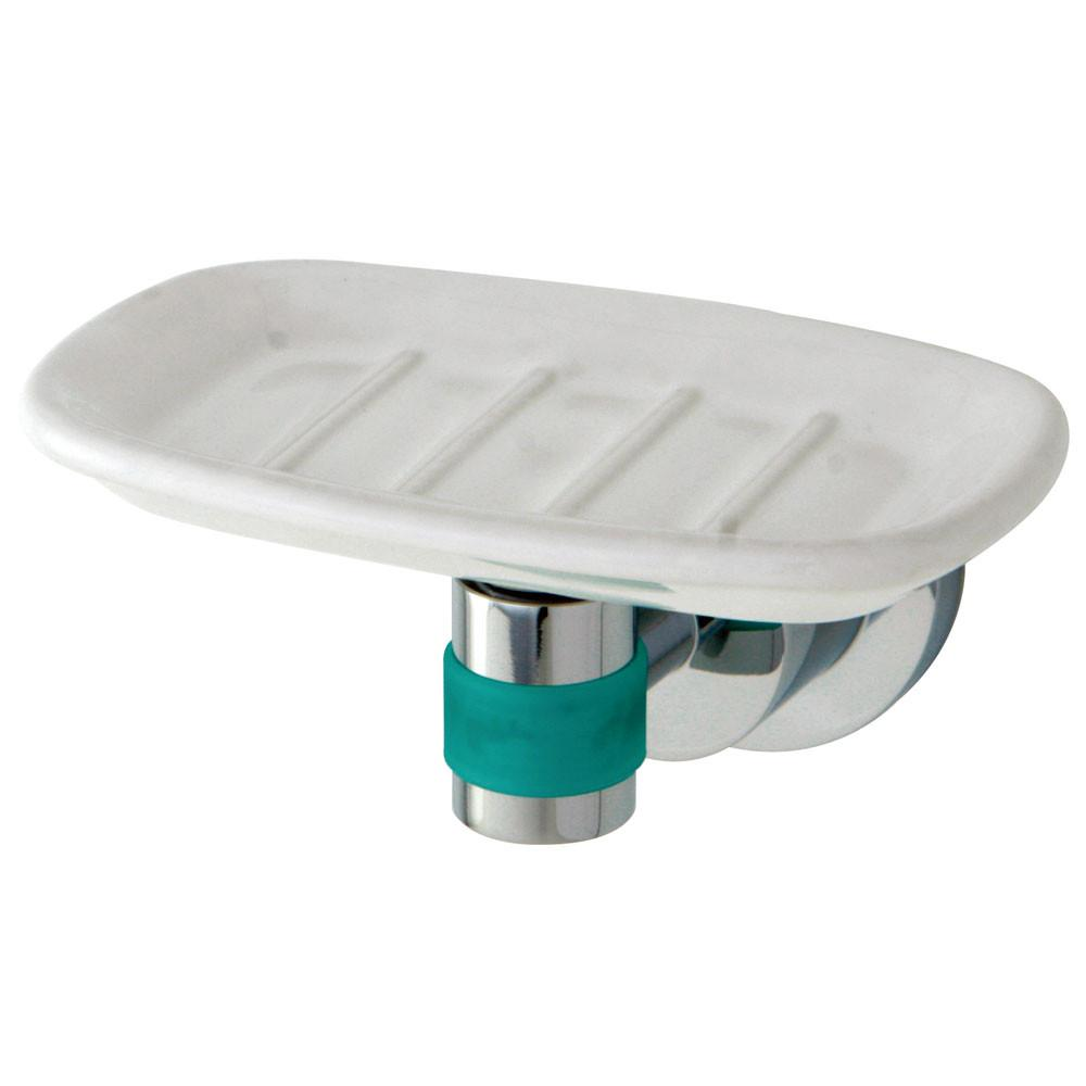 Kingston Brass Green Eden Chrome Bathroom Accessory: Soap Dish BA8215CDGL
