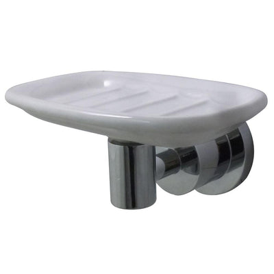 Kingston Brass Concord Bathroom Accessories Chrome Soap Dish BA8215C