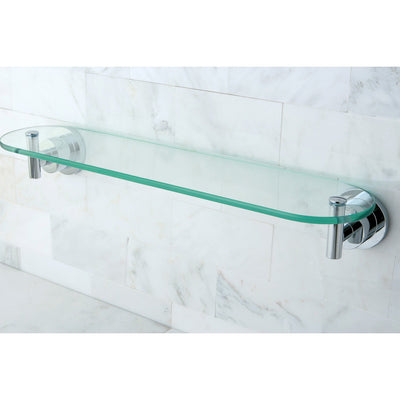 Kingston Tempered Bathroom Glass Shelves Chrome Glass Shelf BA8219C