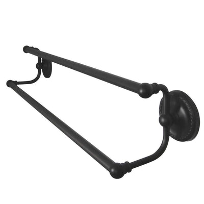 "Bathroom Accessories Oil Rubbed Bronze 24"" Double Dual Towel Bar Rack BA913ORB"