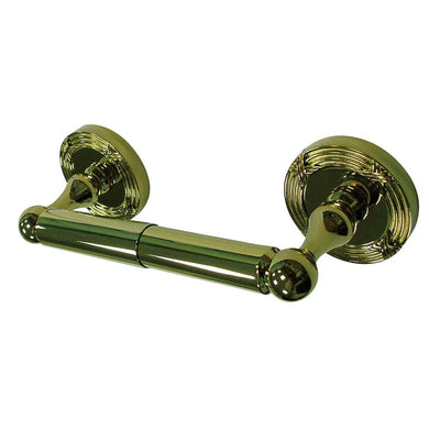 Kingston Brass Polished Brass Georgian toilet tissue paper holder BA9318PB