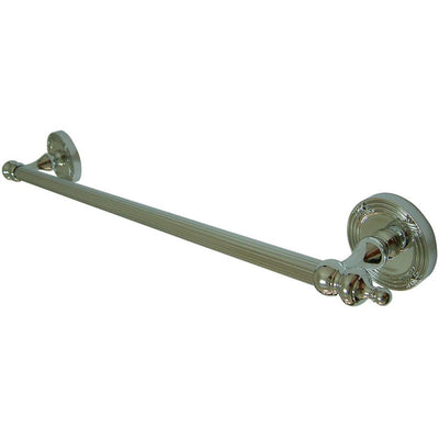 "Kingston Brass Chrome Templeton 18"" Single Towel Bar Rack BA9912C"