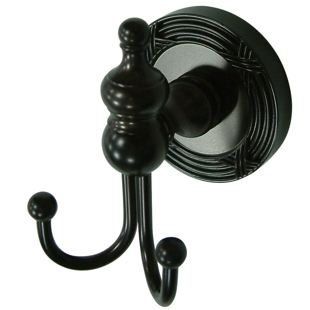 Kingston Oil Rubbed Bronze Templeton Wall Mounted Robe Or Towel Hook BA9917ORB