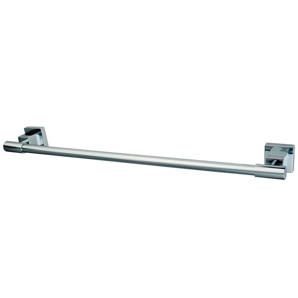 "Kingston Brass Claremont Chrome 24"" Towel Bar Towel Rack BAH8641C"